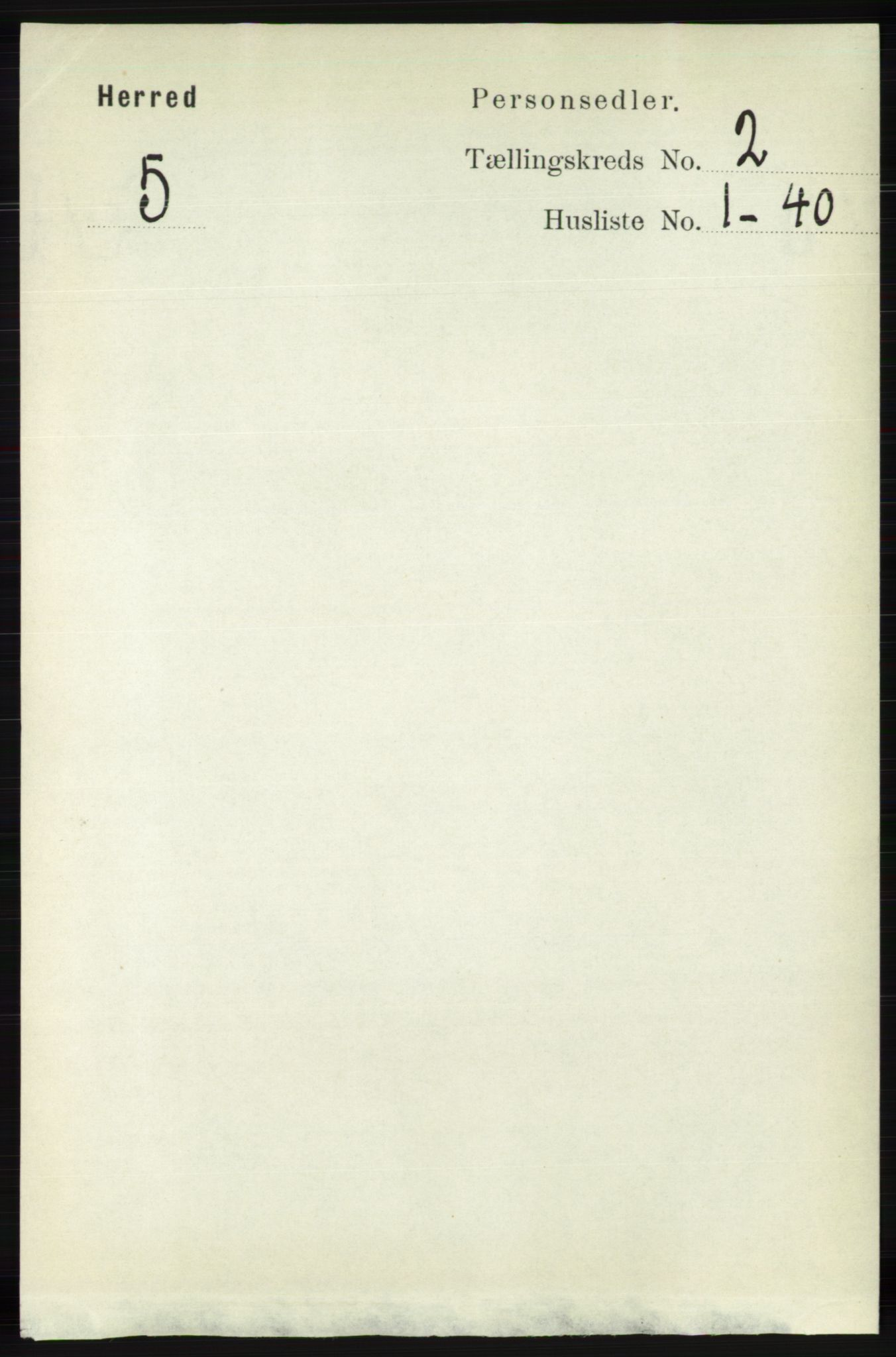 RA, Folketelling 1891 for 1039 Herad herred, 1891, s. 523