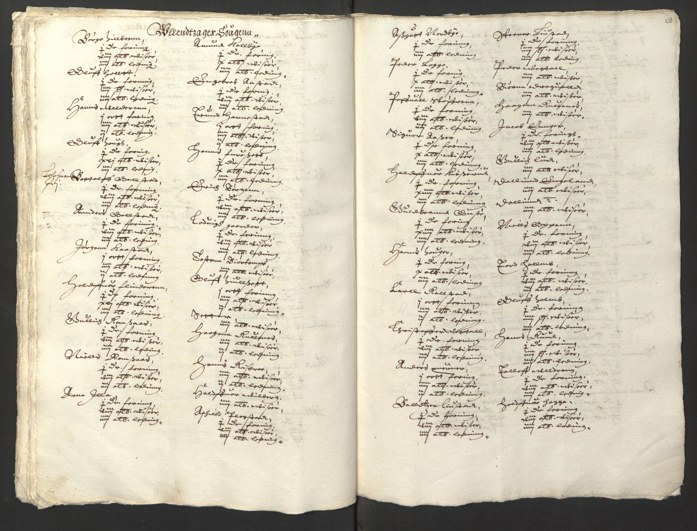 RA, Stattholderembetet 1572-1771, Ek/L0001: Jordebøker før 1624 og til utligning av garnisonsskatt 1624-1626:, 1624-1625, s. 126