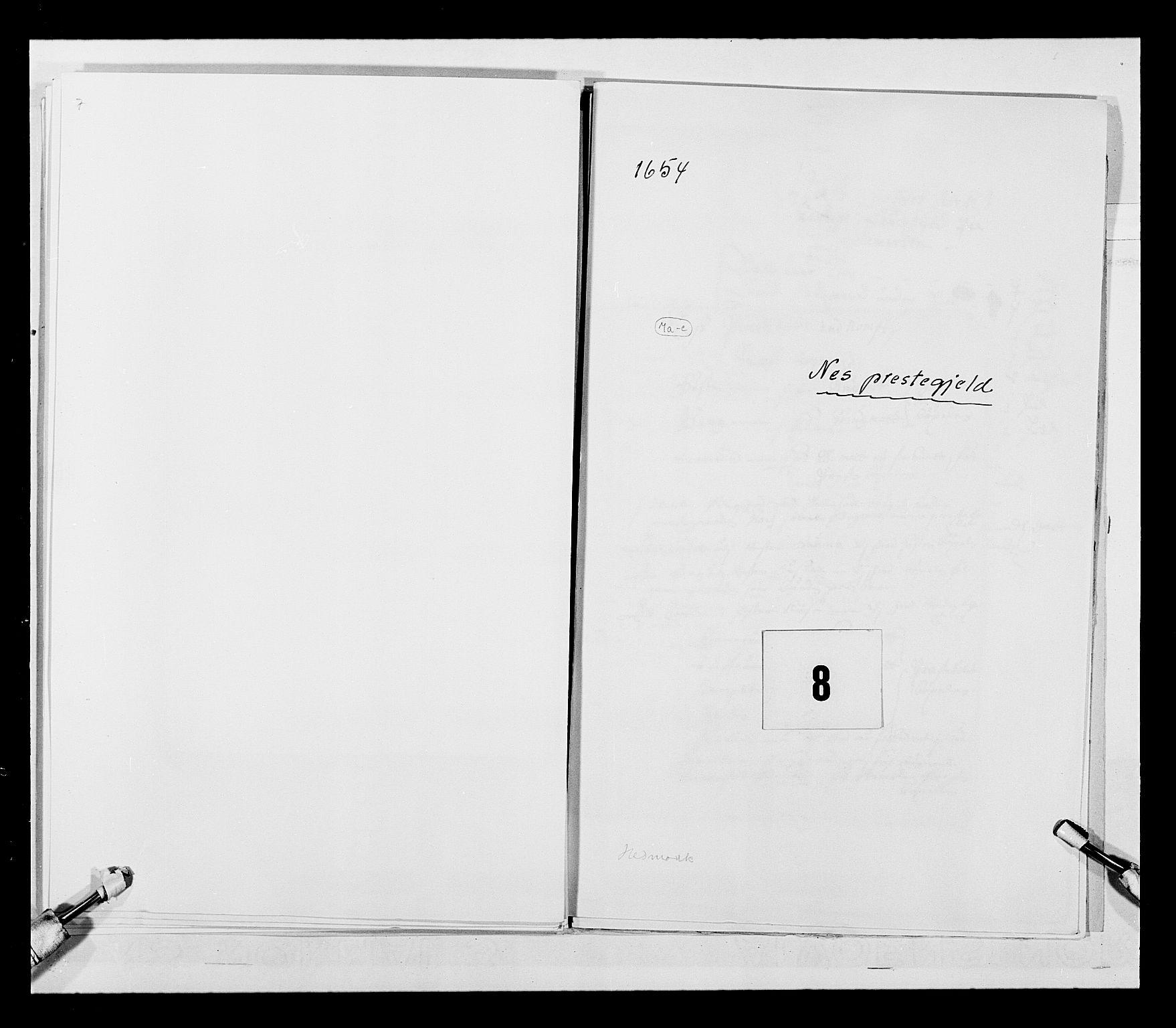 RA, Stattholderembetet 1572-1771, Ek/L0030: Jordebøker 1633-1658:, 1654, s. 27