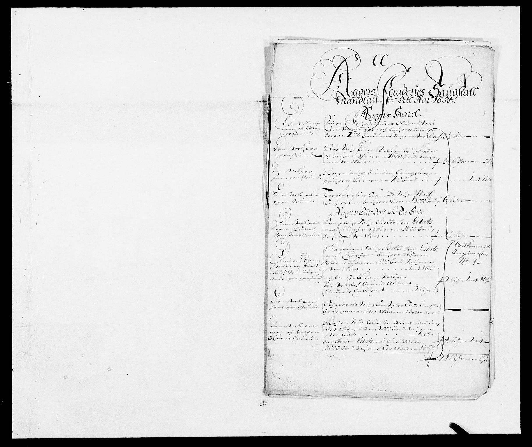 RA, Rentekammeret inntil 1814, Reviderte regnskaper, Fogderegnskap, R08/L0421: Fogderegnskap Aker, 1682-1683, s. 185