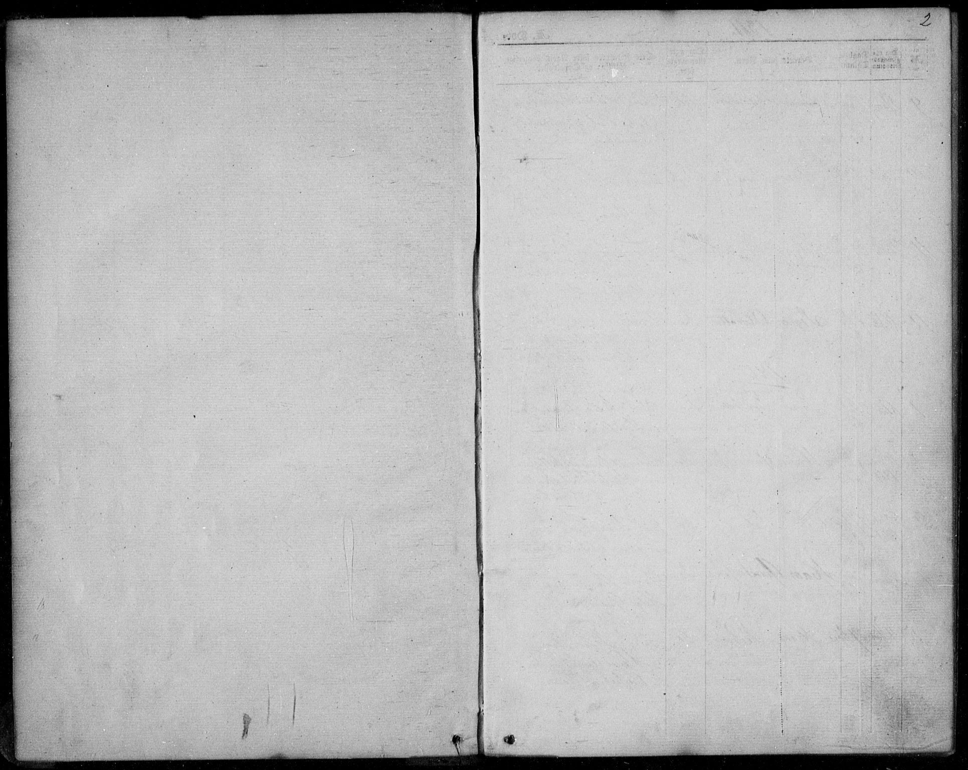 SAKO, Lunde kirkebøker, F/Fb/L0002: Ministerialbok nr. II 2, 1861-1881, s. 2