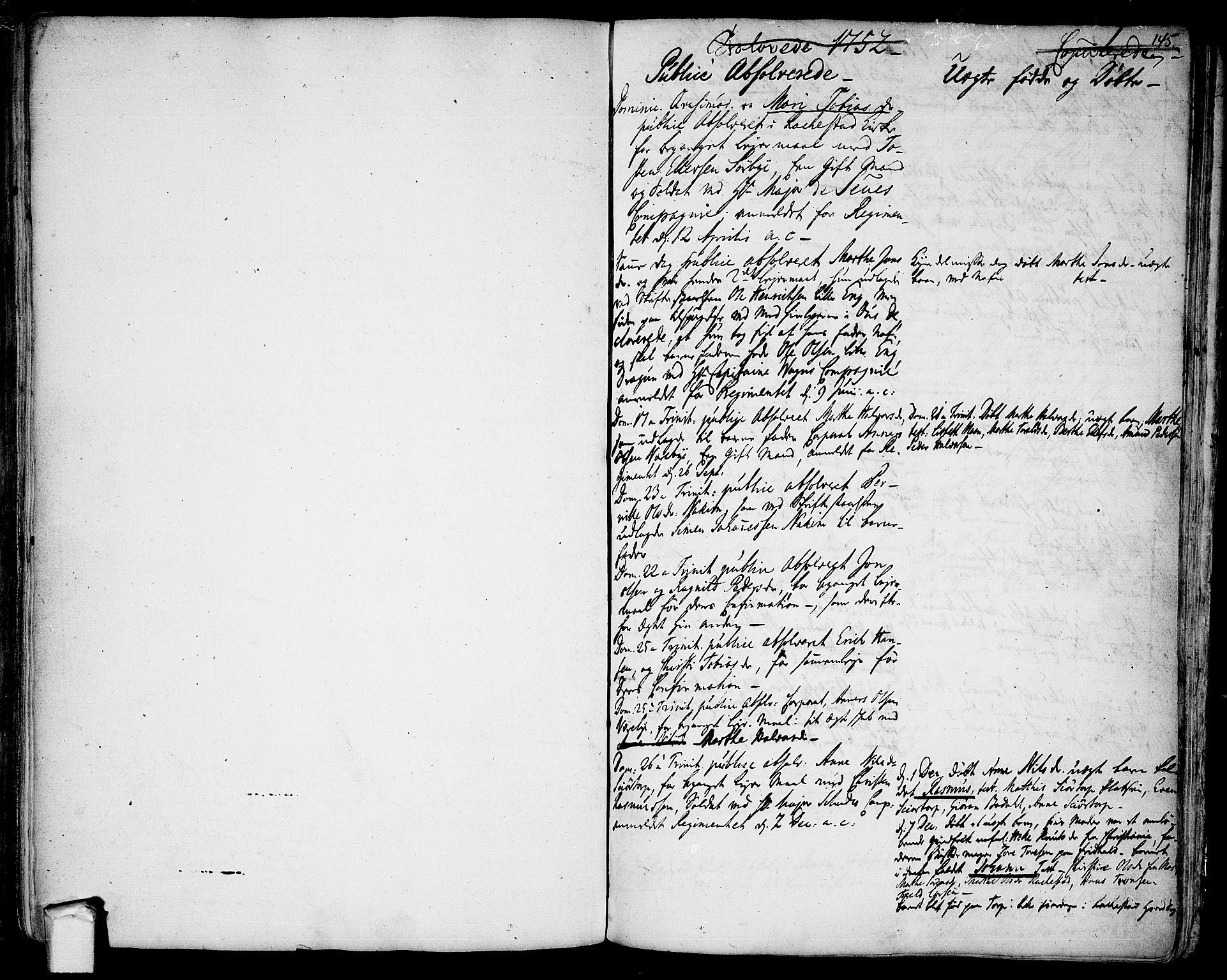 SAO, Rakkestad prestekontor Kirkebøker, F/Fa/L0003: Ministerialbok nr. I 3, 1752-1777, s. 145