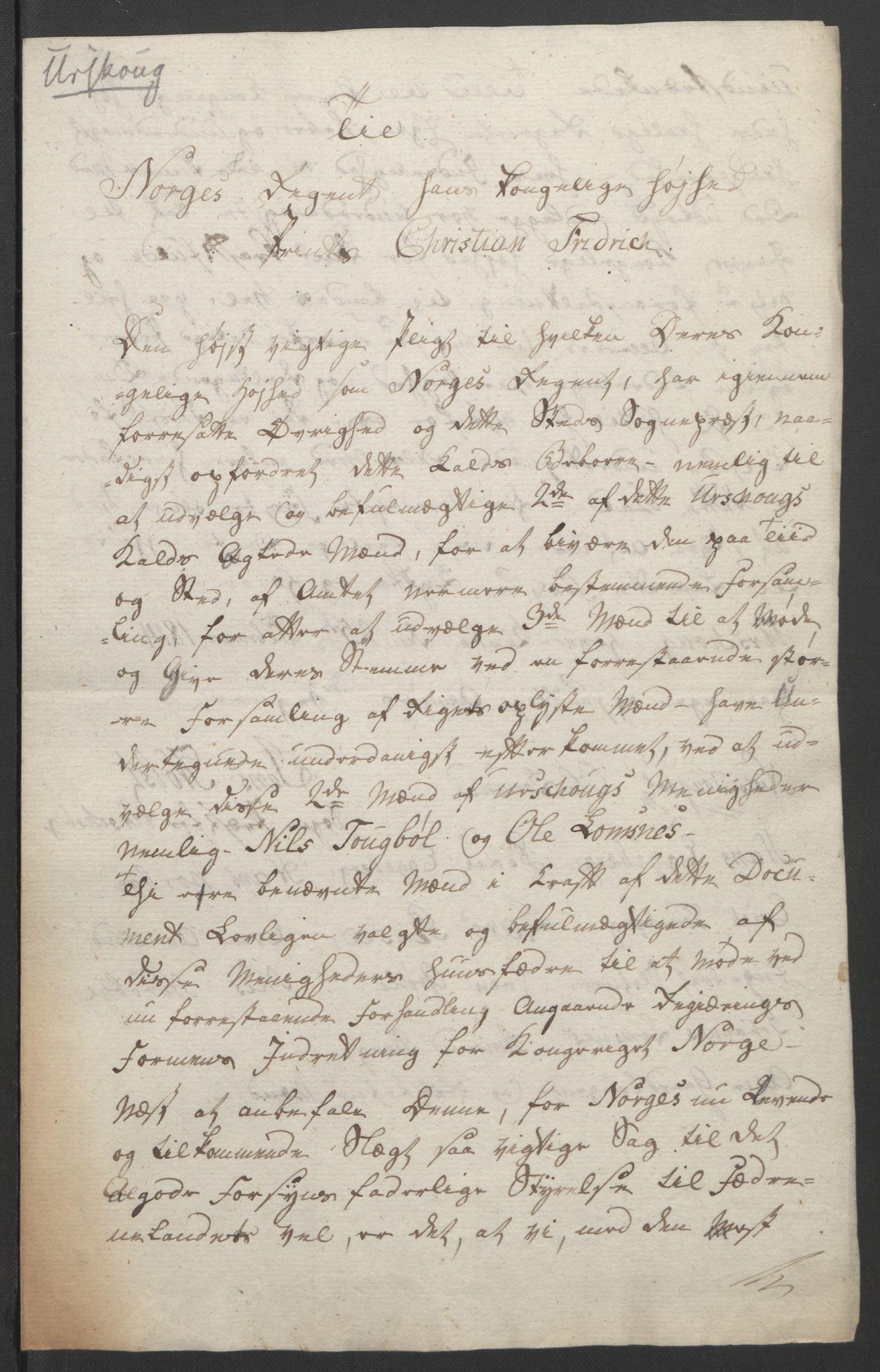 RA, Statsrådssekretariatet, D/Db/L0007: Fullmakter for Eidsvollsrepresentantene i 1814. , 1814, s. 208