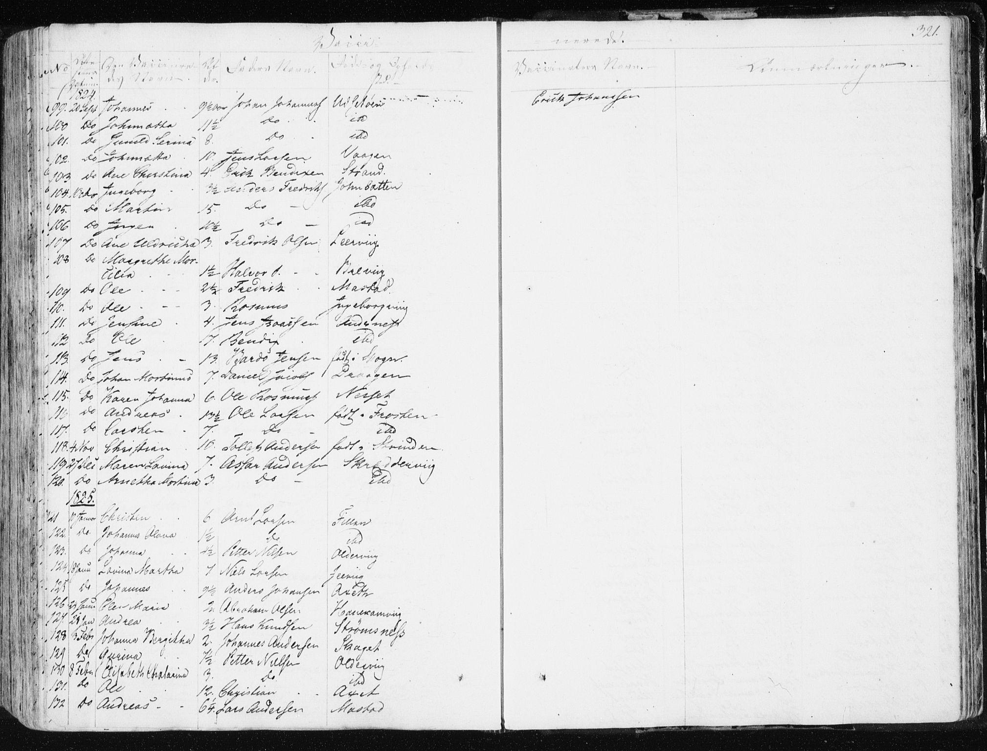 SAT, Ministerialprotokoller, klokkerbøker og fødselsregistre - Sør-Trøndelag, 634/L0528: Ministerialbok nr. 634A04, 1827-1842, s. 321