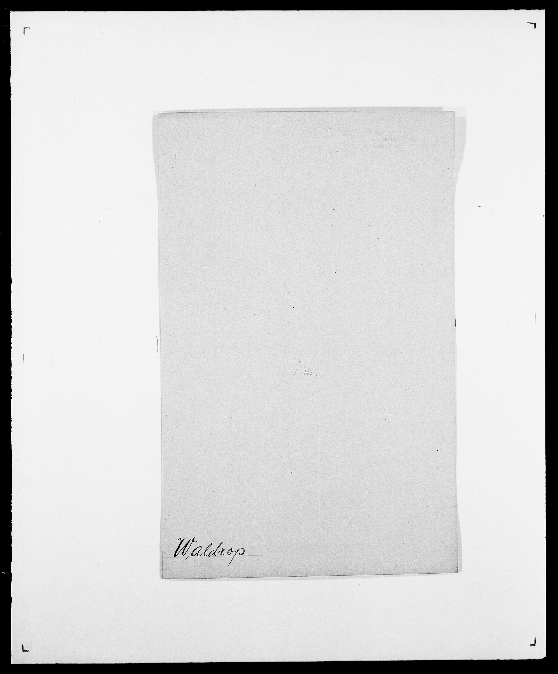 SAO, Delgobe, Charles Antoine - samling, D/Da/L0040: Usgaard - Velund, s. 135