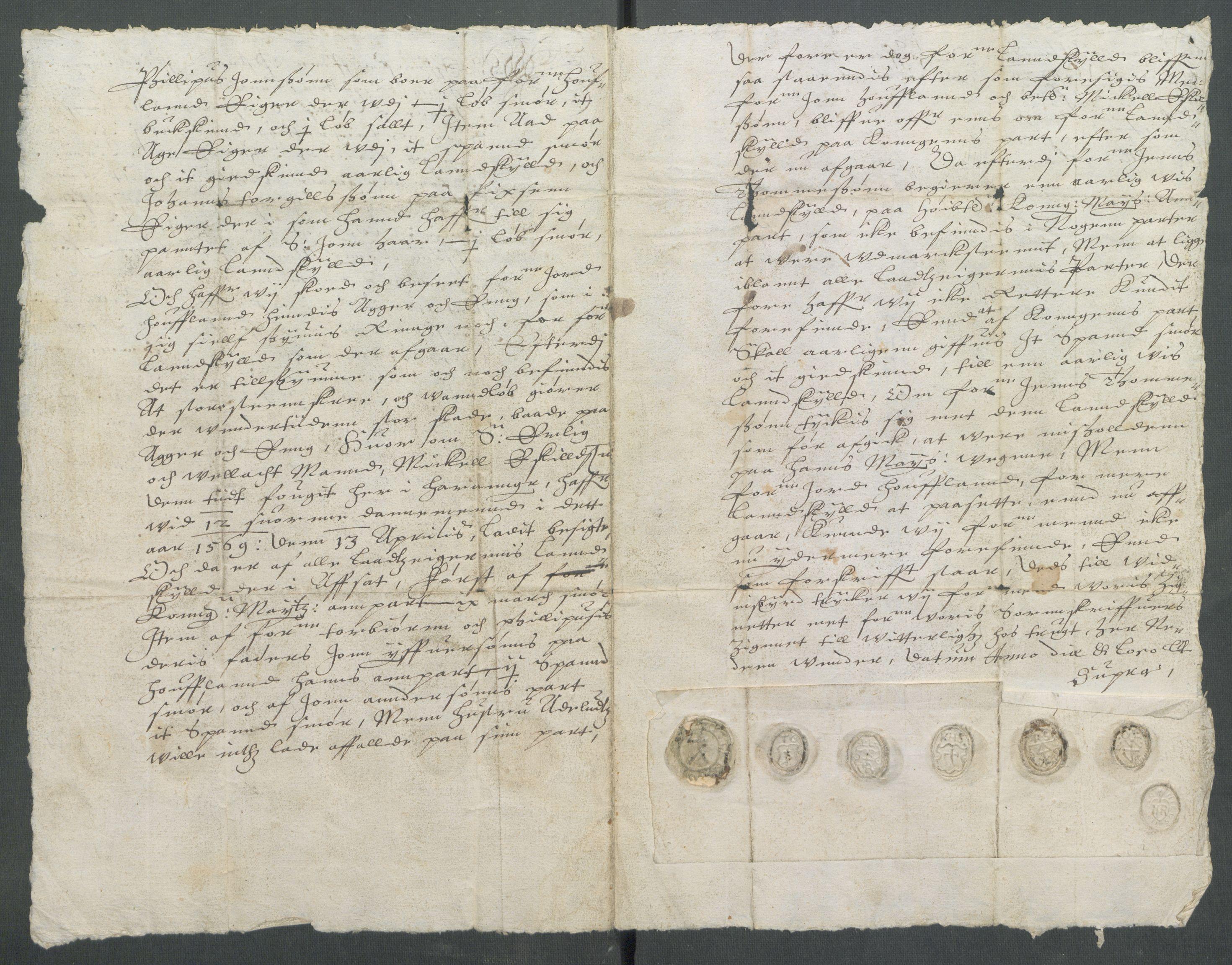RA, Riksarkivets diplomsamling, F02/L0133: Dokumenter, 1624, s. 82