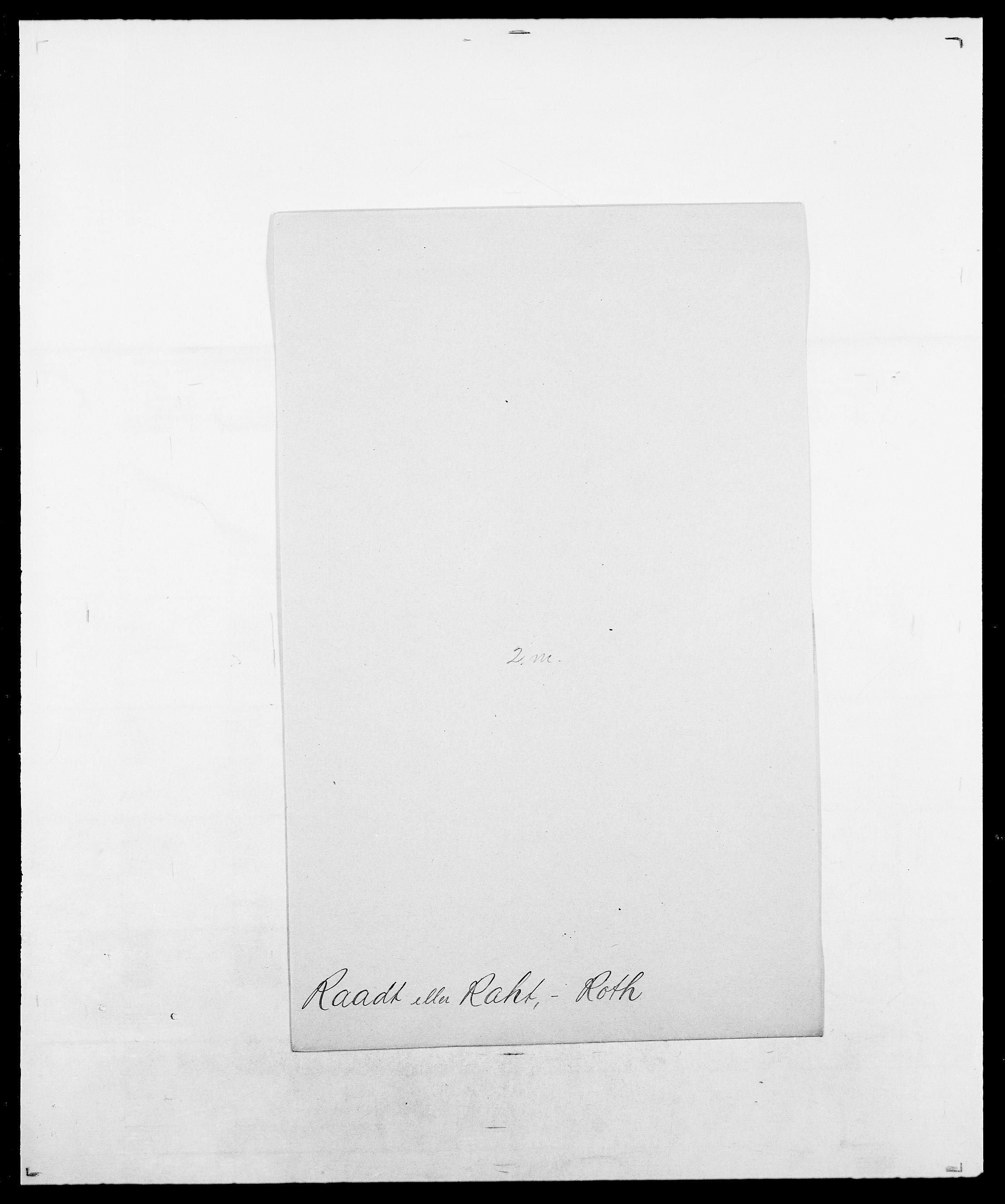 SAO, Delgobe, Charles Antoine - samling, D/Da/L0031: de Place - Raaum, s. 528