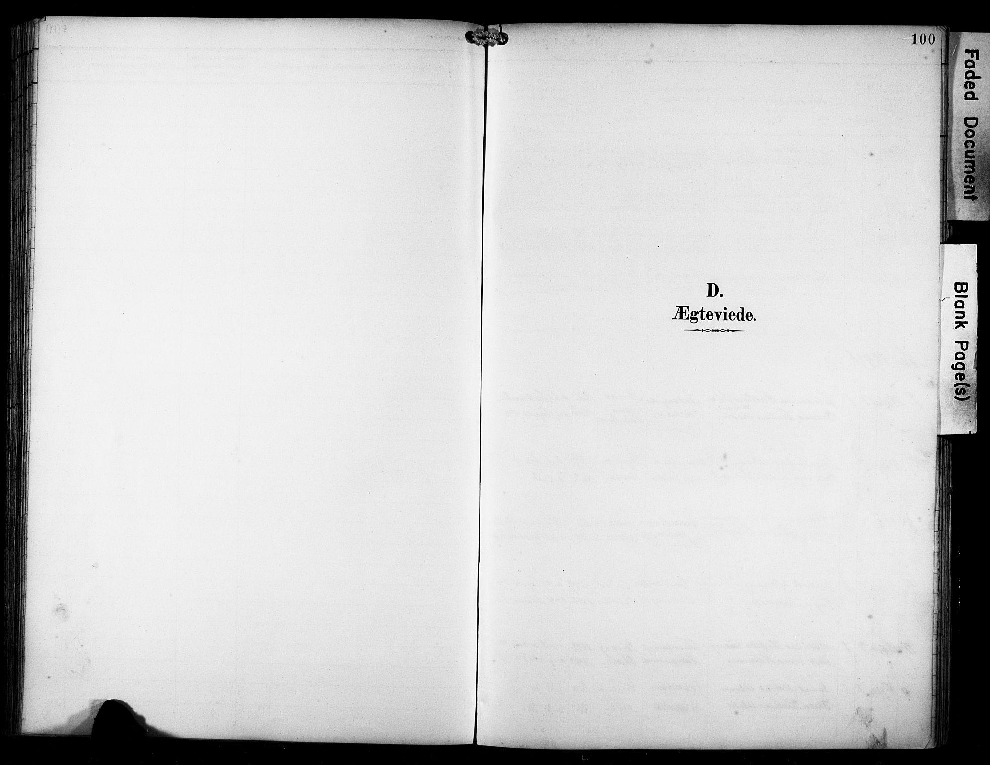 SAST, Avaldsnes sokneprestkontor, H/Ha/Haa/L0016: Ministerialbok nr. A 16, 1893-1918, s. 100