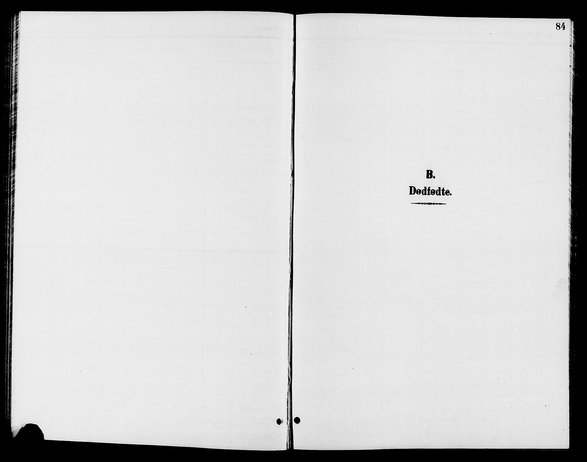 SAH, Jevnaker prestekontor, Klokkerbok nr. 2, 1896-1906, s. 84