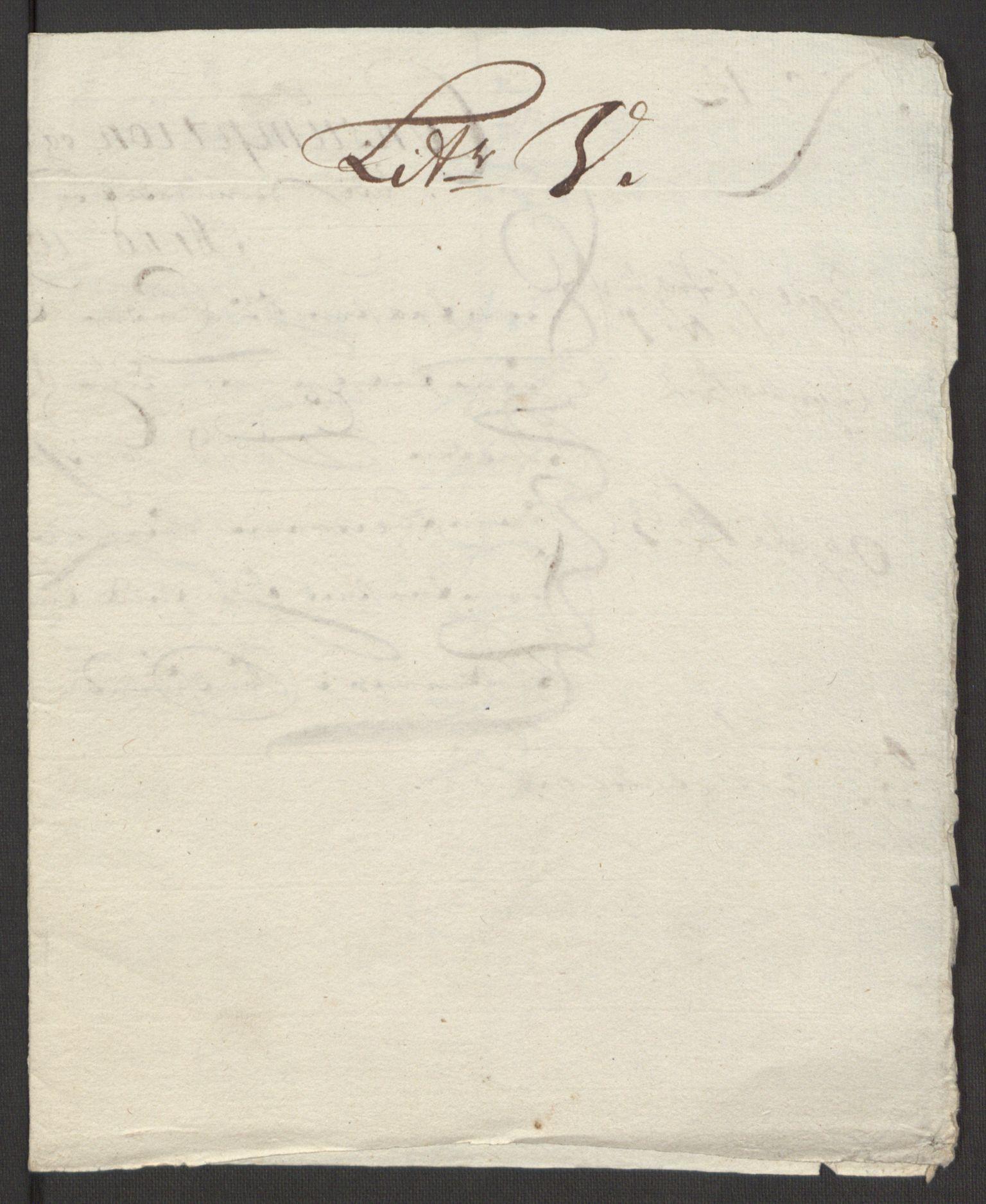 RA, Rentekammeret inntil 1814, Reviderte regnskaper, Fogderegnskap, R24/L1575: Fogderegnskap Numedal og Sandsvær, 1692-1695, s. 182