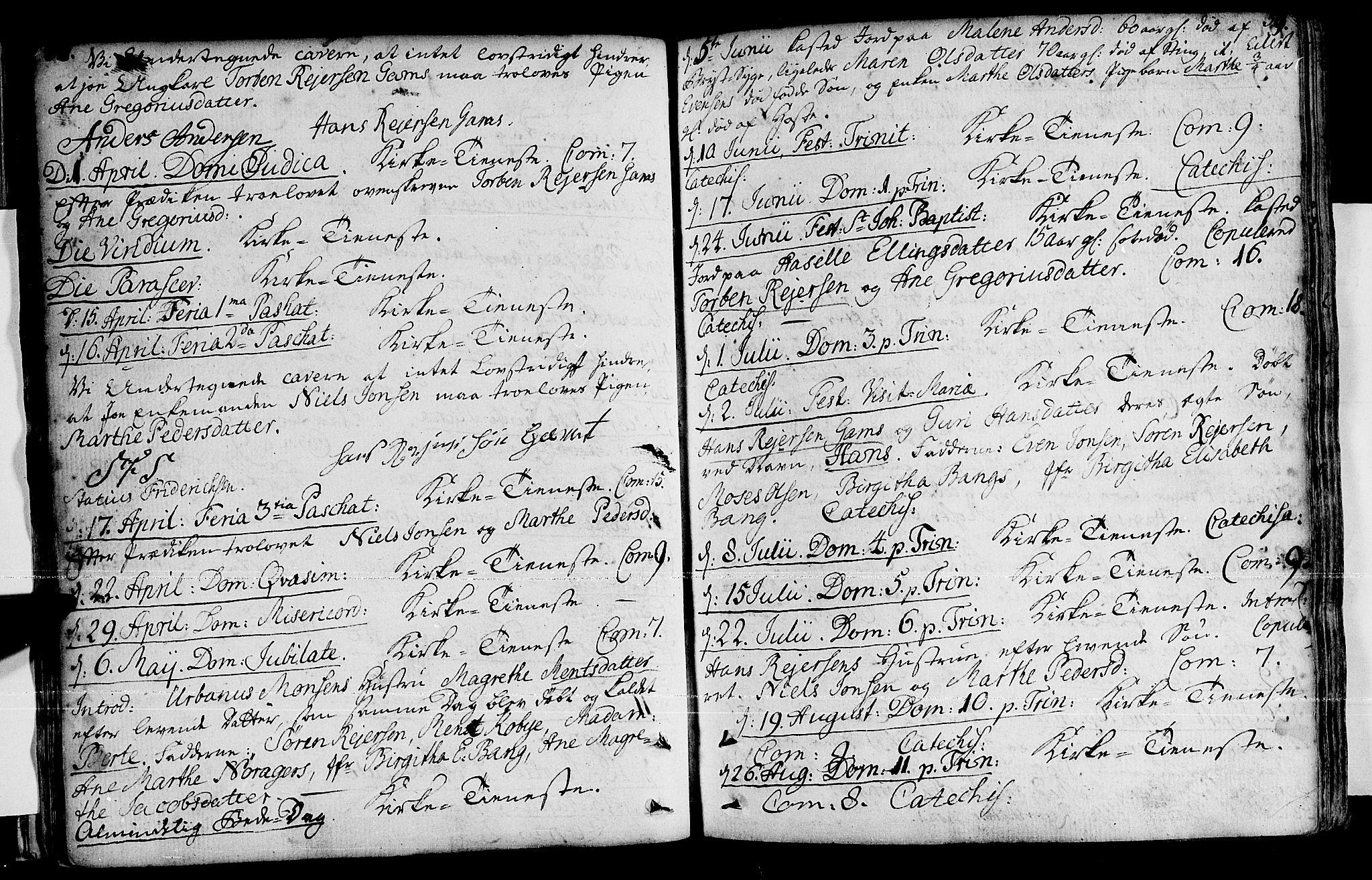 SATØ, Loppa sokneprestkontor, H/Ha/L0001kirke: Ministerialbok nr. 1 /1, 1753-1784, s. 58-59