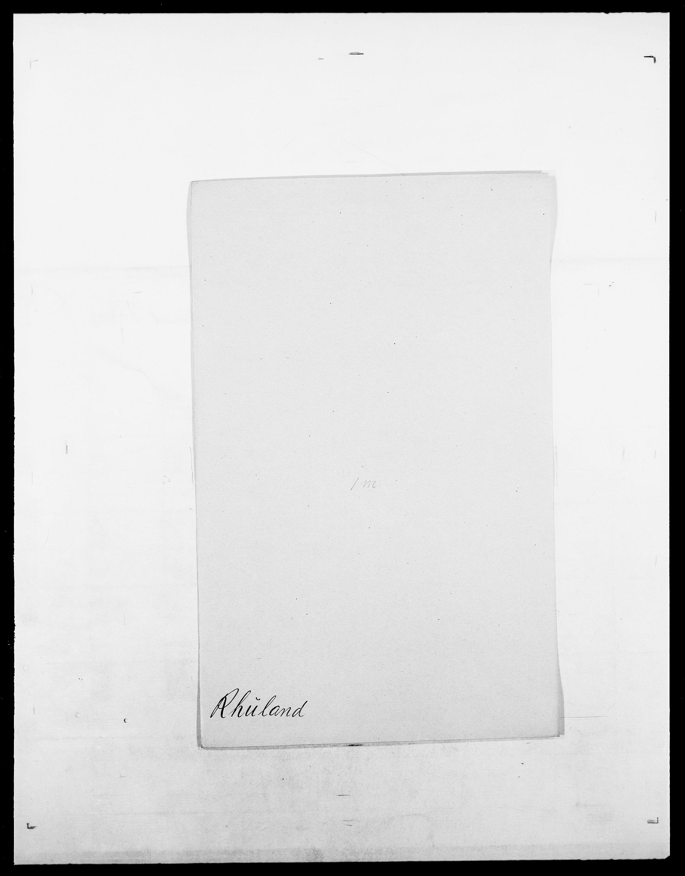 SAO, Delgobe, Charles Antoine - samling, D/Da/L0032: Rabakovsky - Rivertz, s. 507