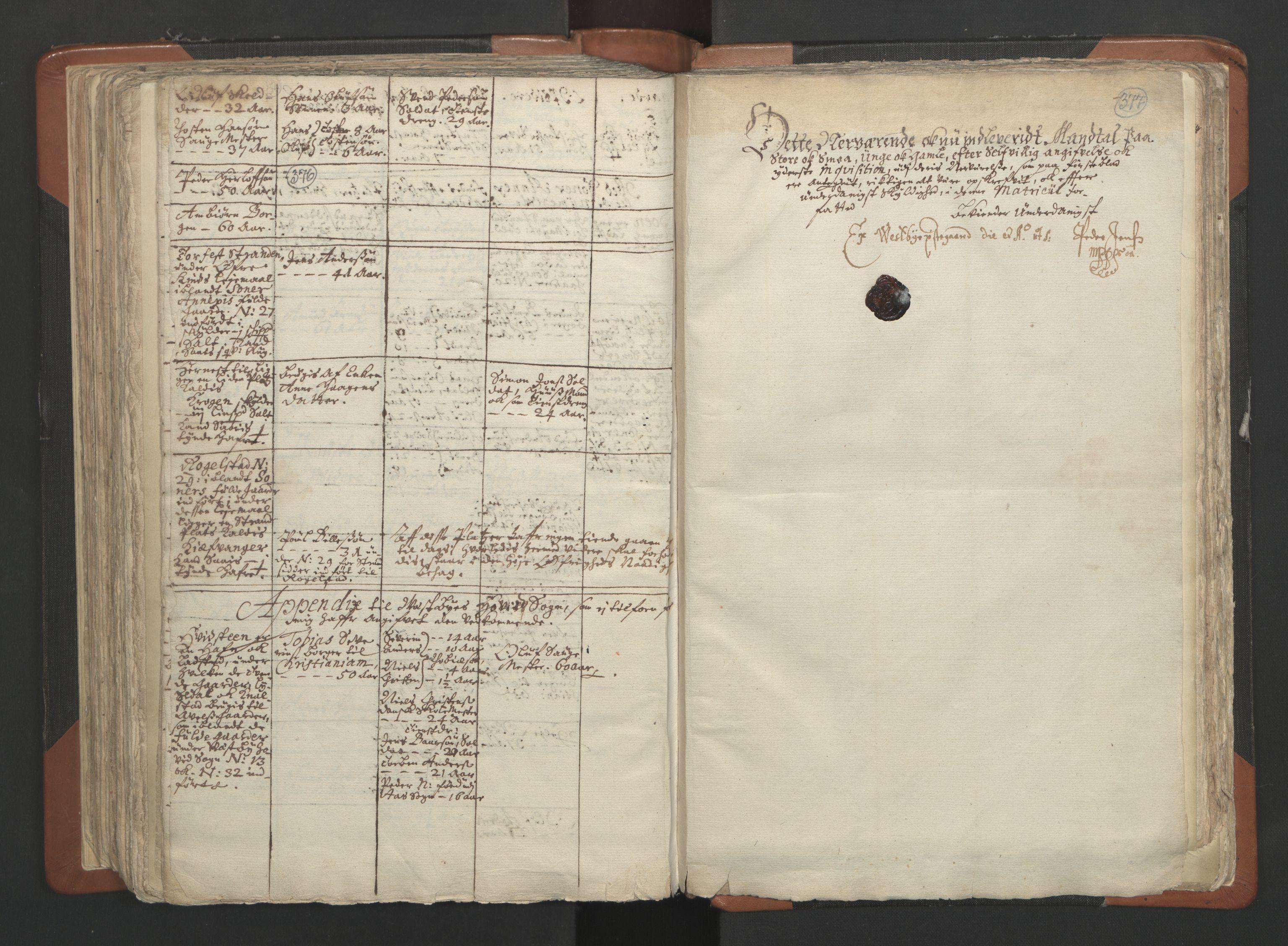 RA, Sogneprestenes manntall 1664-1666, nr. 2: Øvre Borgesyssel prosti, 1664-1666, s. 376-377