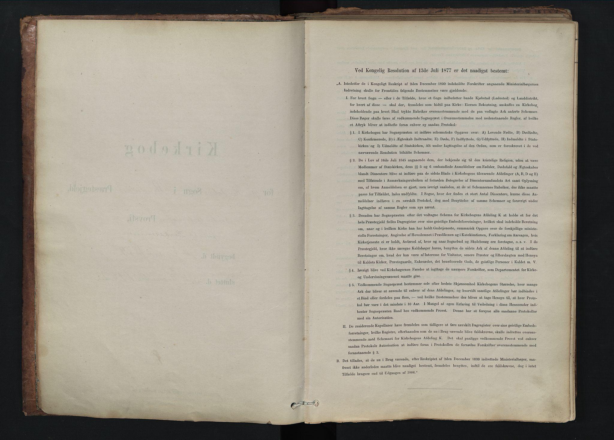SAH, Rendalen prestekontor, H/Ha/Hab/L0009: Klokkerbok nr. 9, 1879-1902