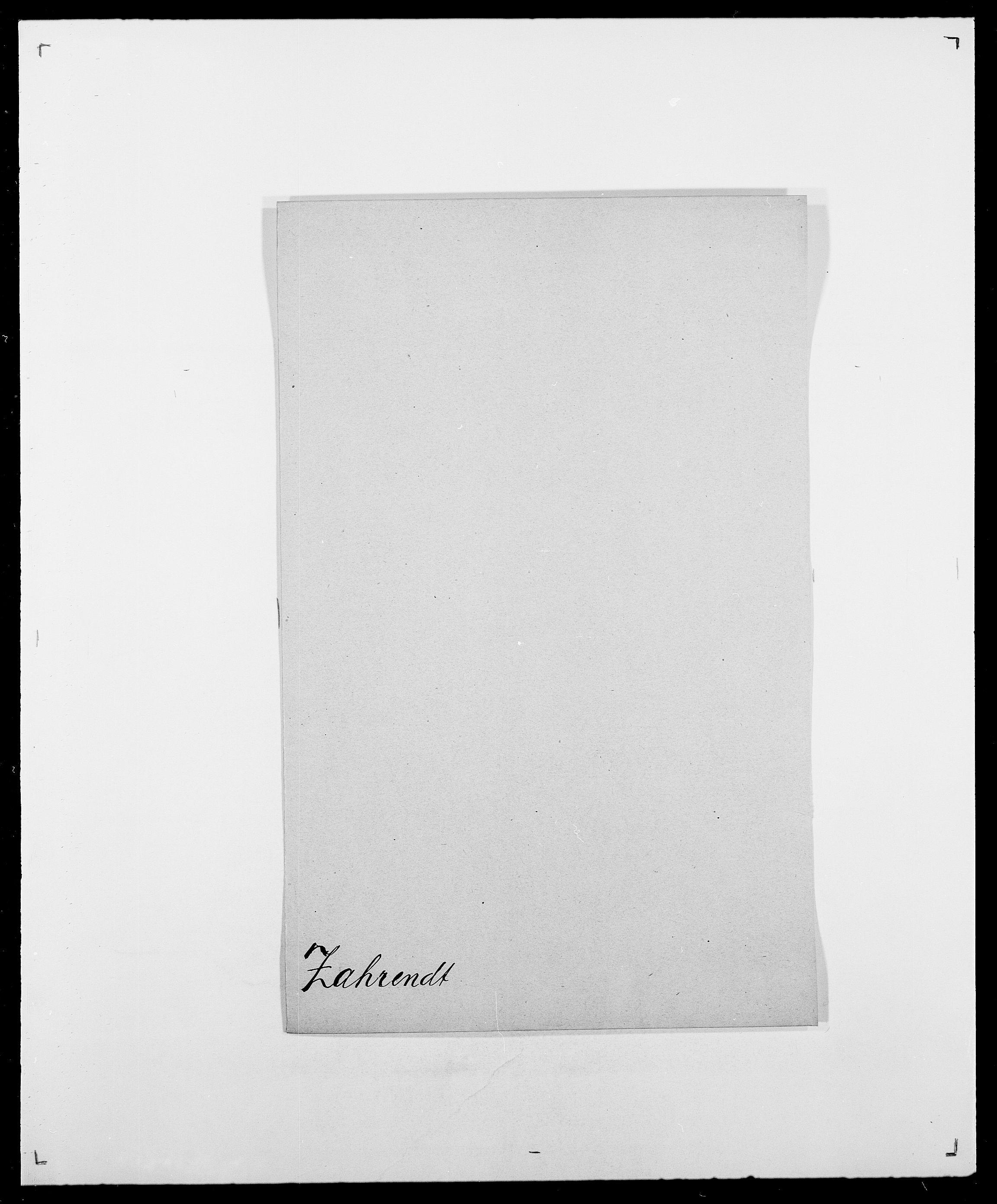 SAO, Delgobe, Charles Antoine - samling, D/Da/L0043: Wulfsberg - v. Zanten, s. 86