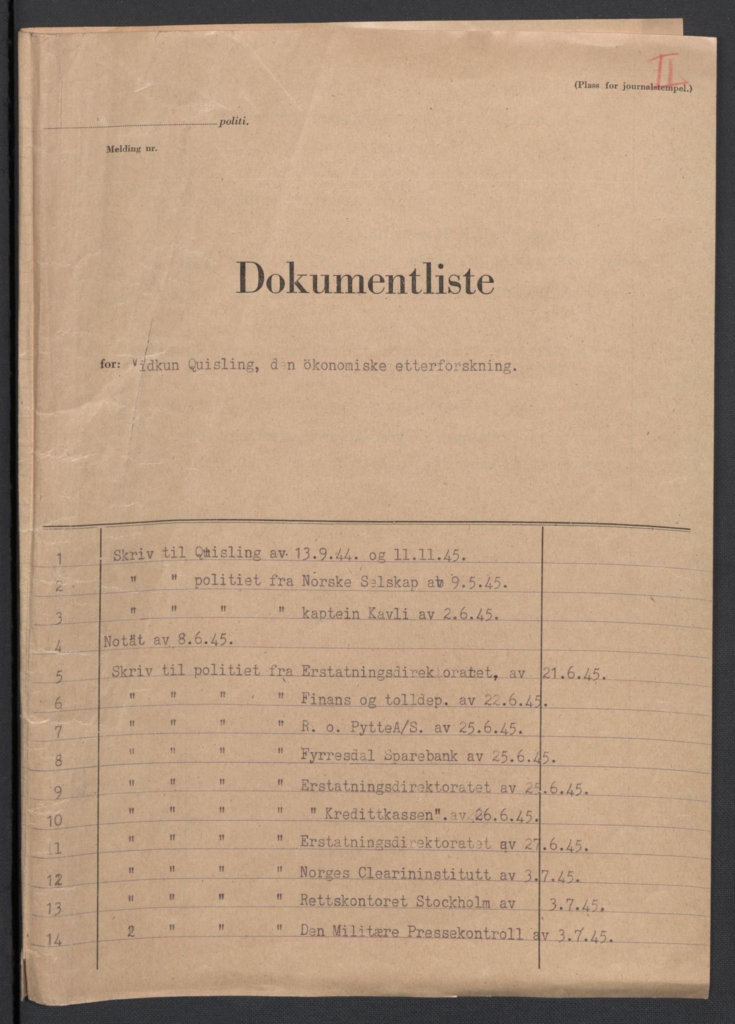 RA, Landssvikarkivet, D/Da/L0006: Dnr. 29, 1945, s. 302