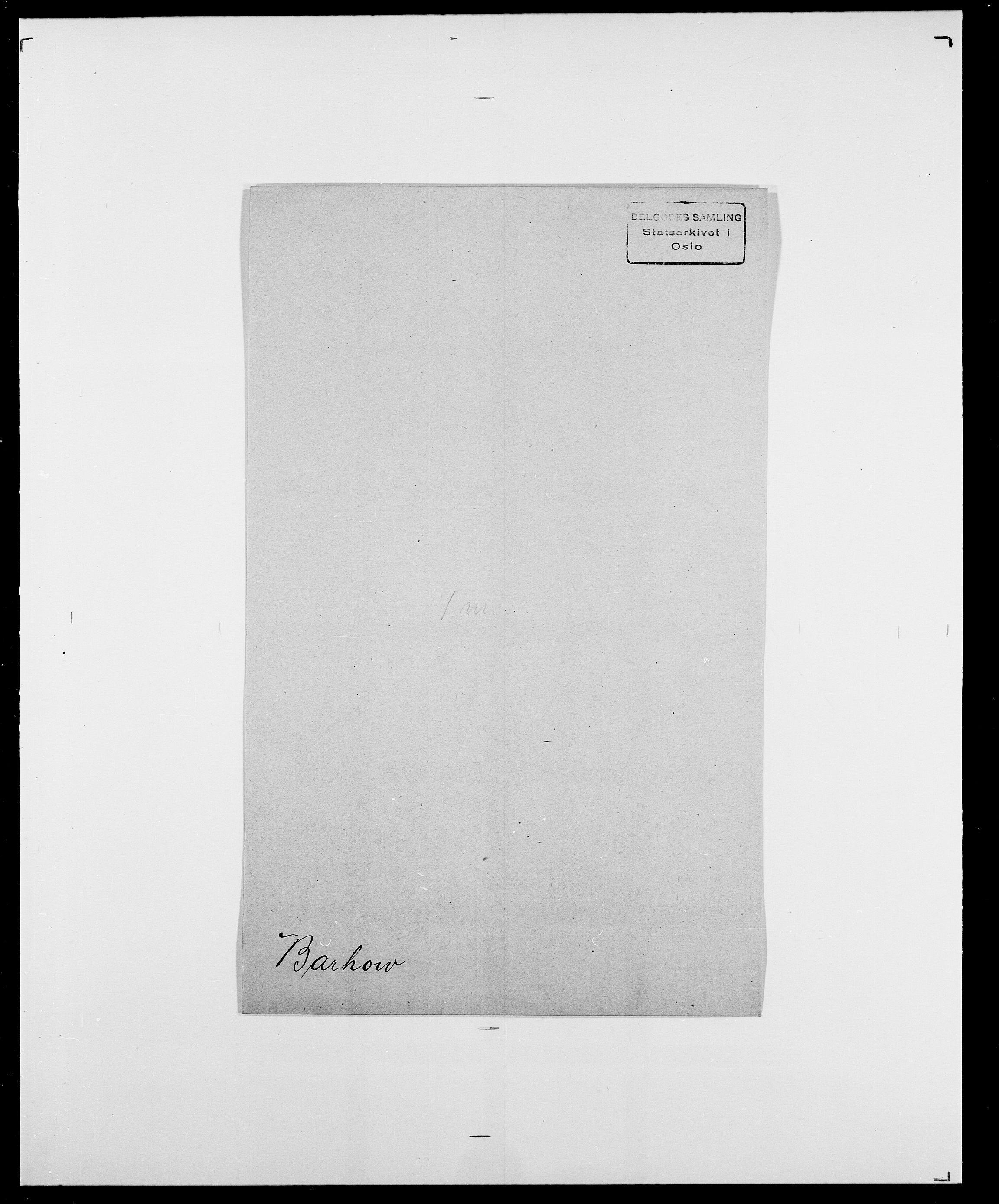 SAO, Delgobe, Charles Antoine - samling, D/Da/L0003: Barca - Bergen, s. 342