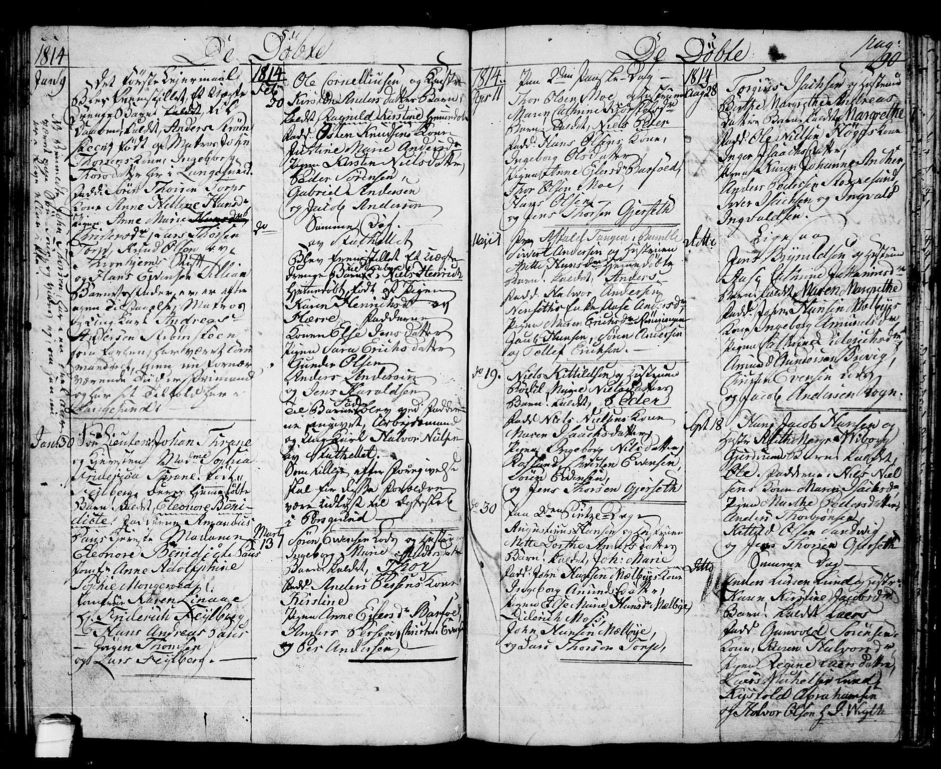 SAKO, Langesund kirkebøker, G/Ga/L0002: Klokkerbok nr. 2, 1801-1815, s. 90