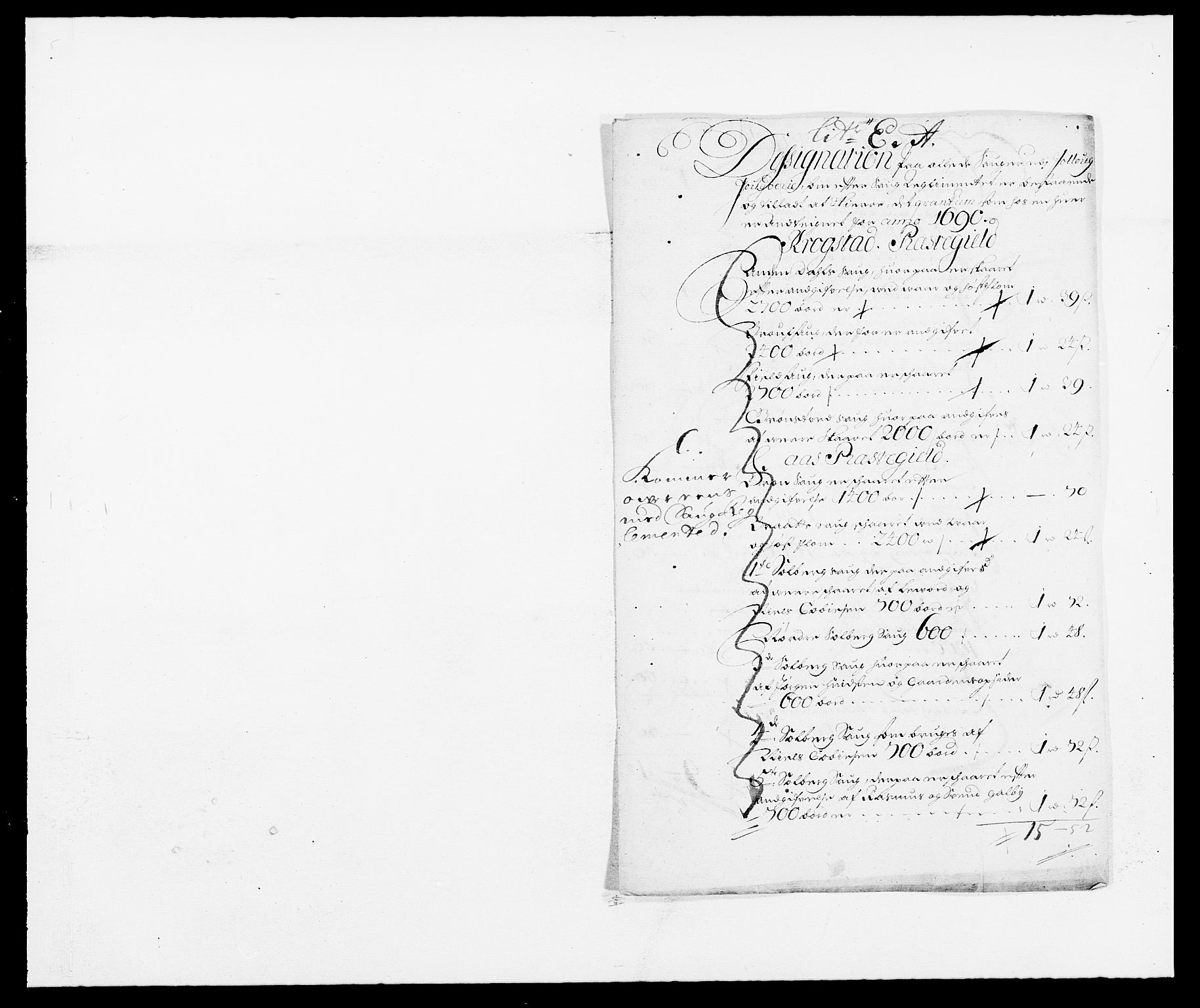 RA, Rentekammeret inntil 1814, Reviderte regnskaper, Fogderegnskap, R09/L0435: Fogderegnskap Follo, 1689-1691, s. 357