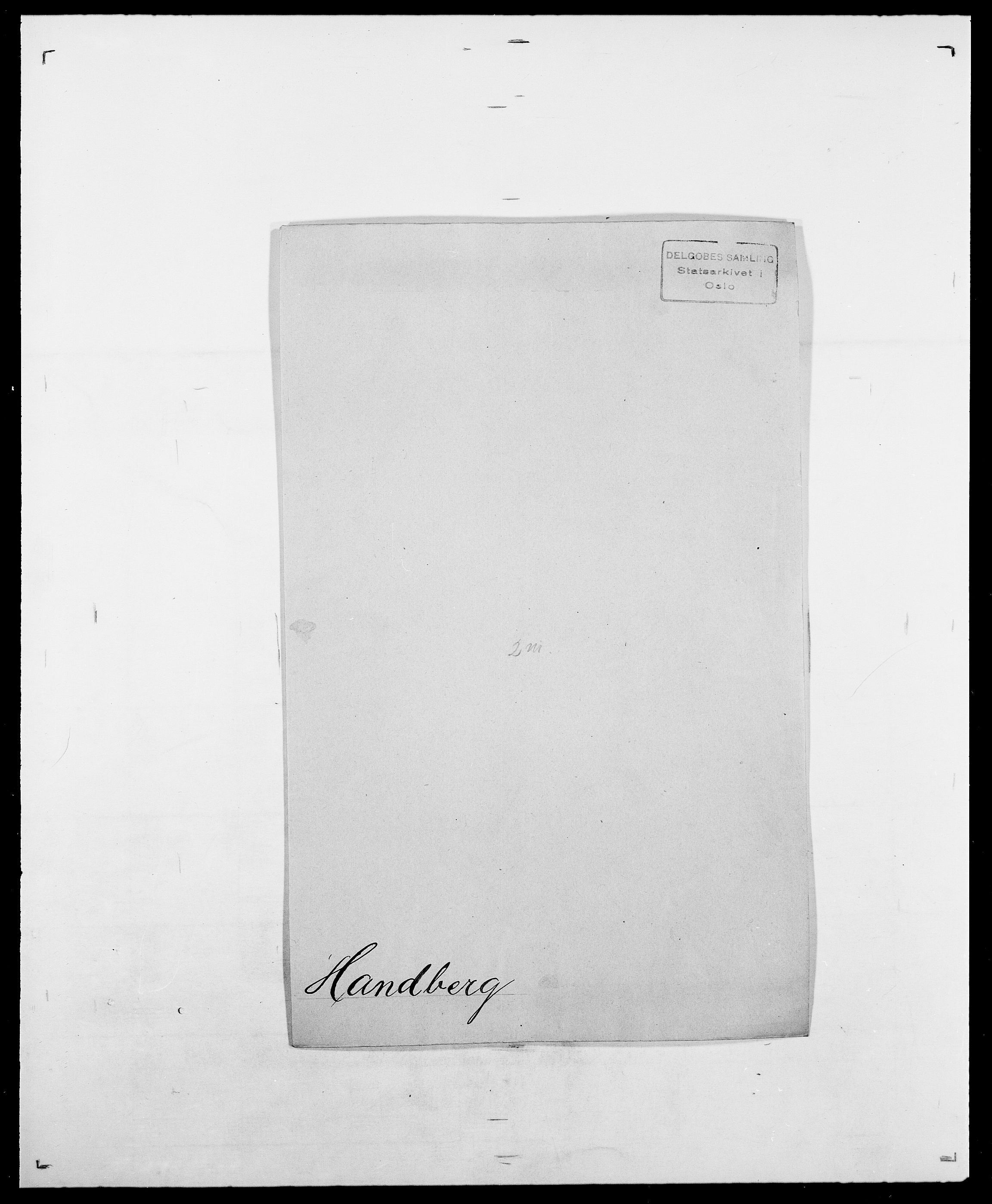 SAO, Delgobe, Charles Antoine - samling, D/Da/L0016: Hamborg - Hektoen, s. 103