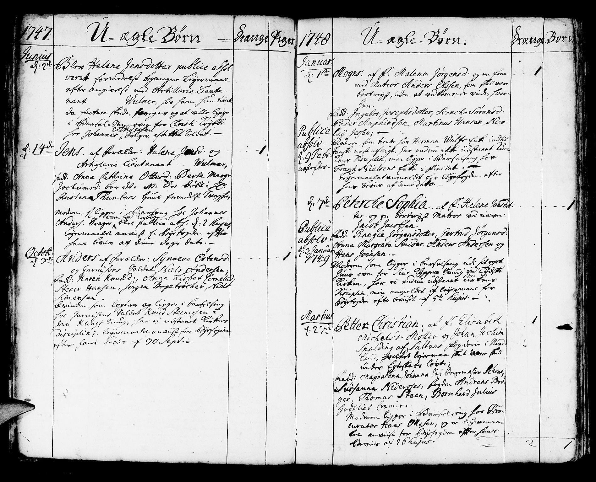 SAB, Korskirken Sokneprestembete, H/Haa/L0004: Ministerialbok nr. A 4, 1720-1750, s. 303