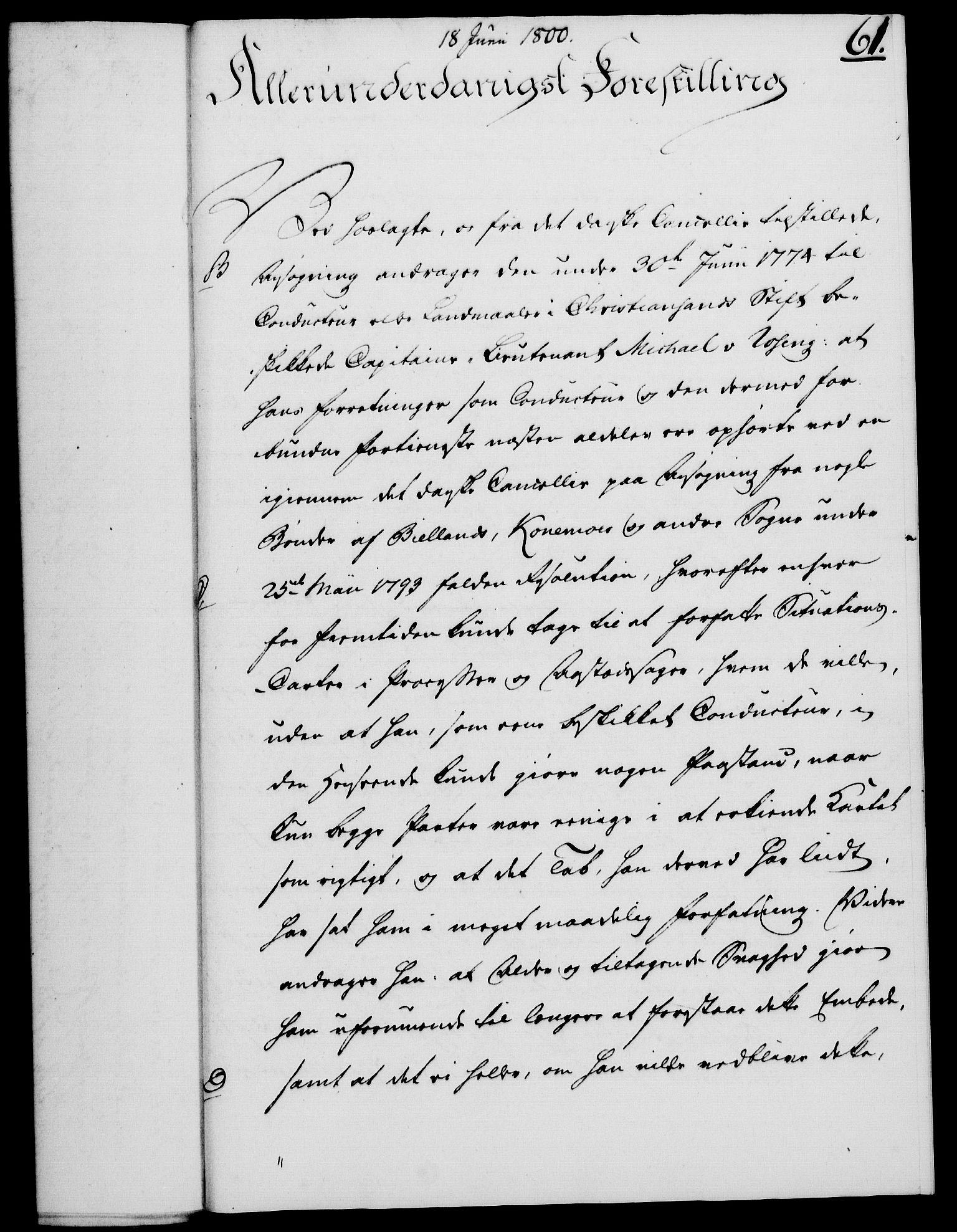 RA, Rentekammeret, Kammerkanselliet, G/Gf/Gfa/L0082: Norsk relasjons- og resolusjonsprotokoll (merket RK 52.82), 1800, s. 372