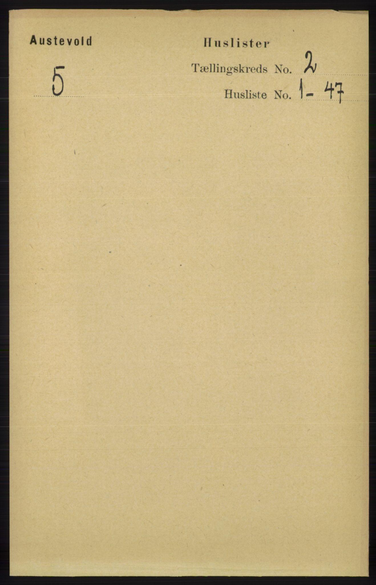 RA, Folketelling 1891 for 1244 Austevoll herred, 1891, s. 565