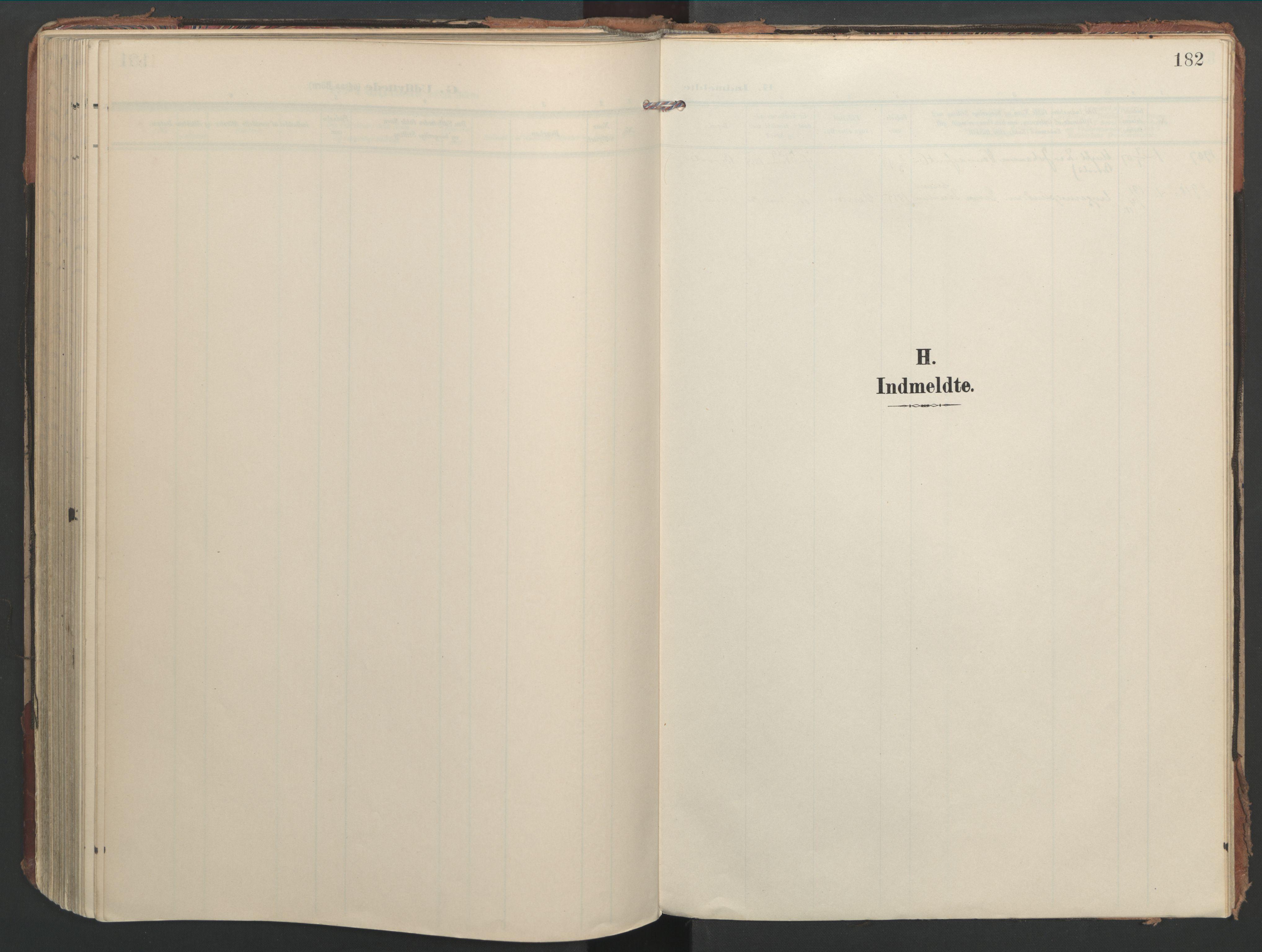 SAT, Ministerialprotokoller, klokkerbøker og fødselsregistre - Nord-Trøndelag, 744/L0421: Ministerialbok nr. 744A05, 1905-1930, s. 182