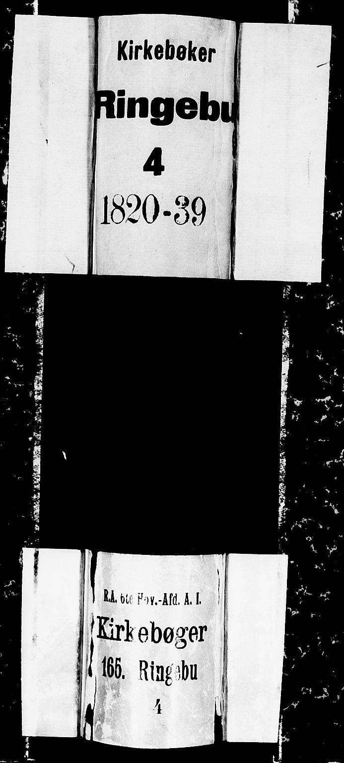 SAH, Ringebu prestekontor, Klokkerbok nr. 1, 1821-1839