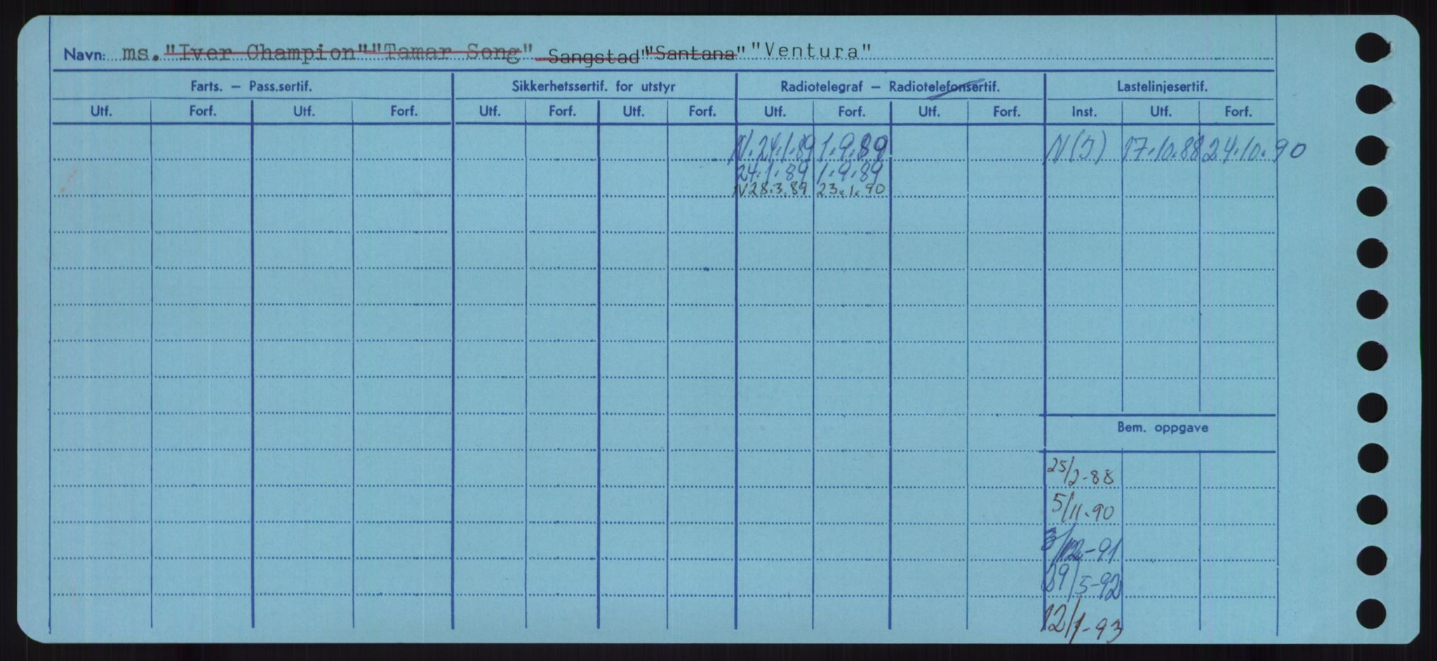 RA, Sjøfartsdirektoratet med forløpere, Skipsmålingen, H/Ha/L0006: Fartøy, Sver-Å, s. 252