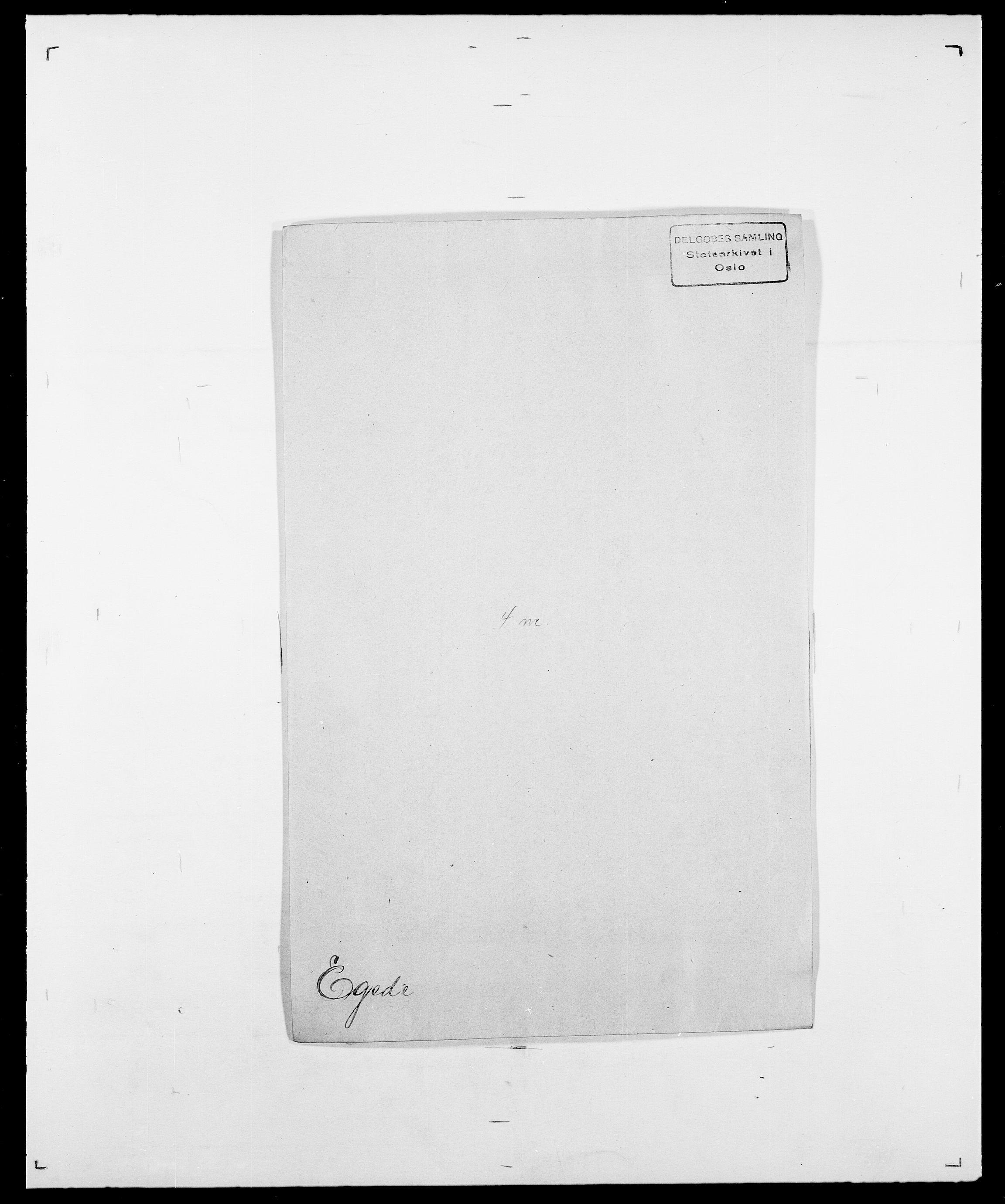 SAO, Delgobe, Charles Antoine - samling, D/Da/L0010: Dürendahl - Fagelund, s. 190