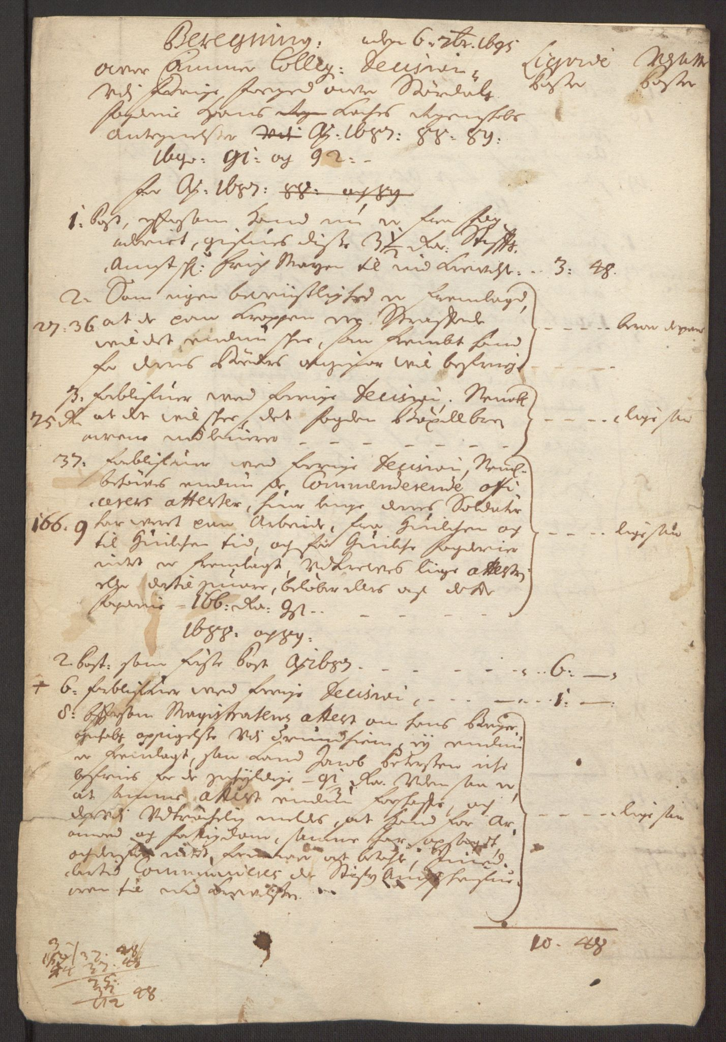 RA, Rentekammeret inntil 1814, Reviderte regnskaper, Fogderegnskap, R62/L4185: Fogderegnskap Stjørdal og Verdal, 1692, s. 391