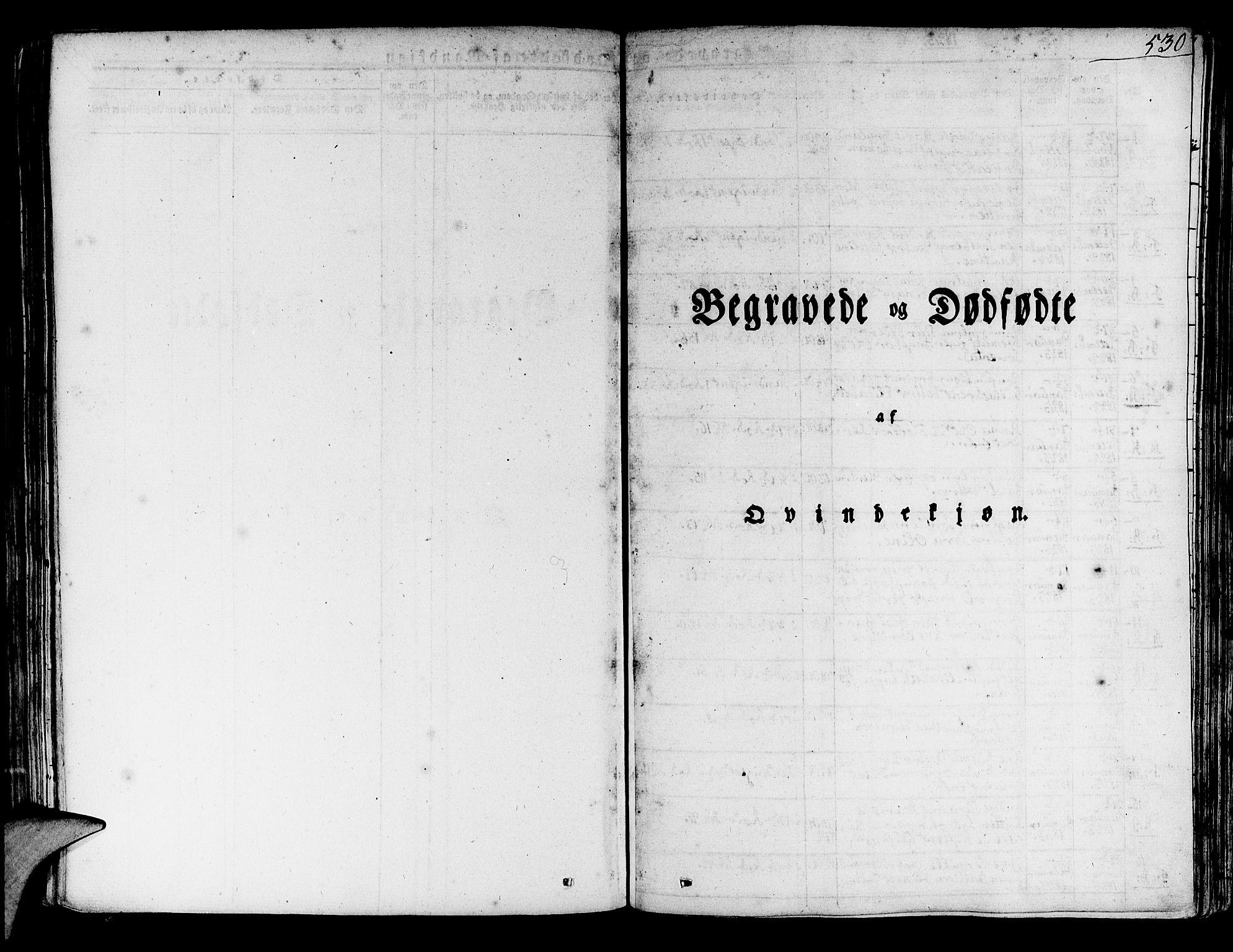SAB, Korskirken Sokneprestembete, H/Haa/L0014: Ministerialbok nr. A 14, 1823-1835, s. 530