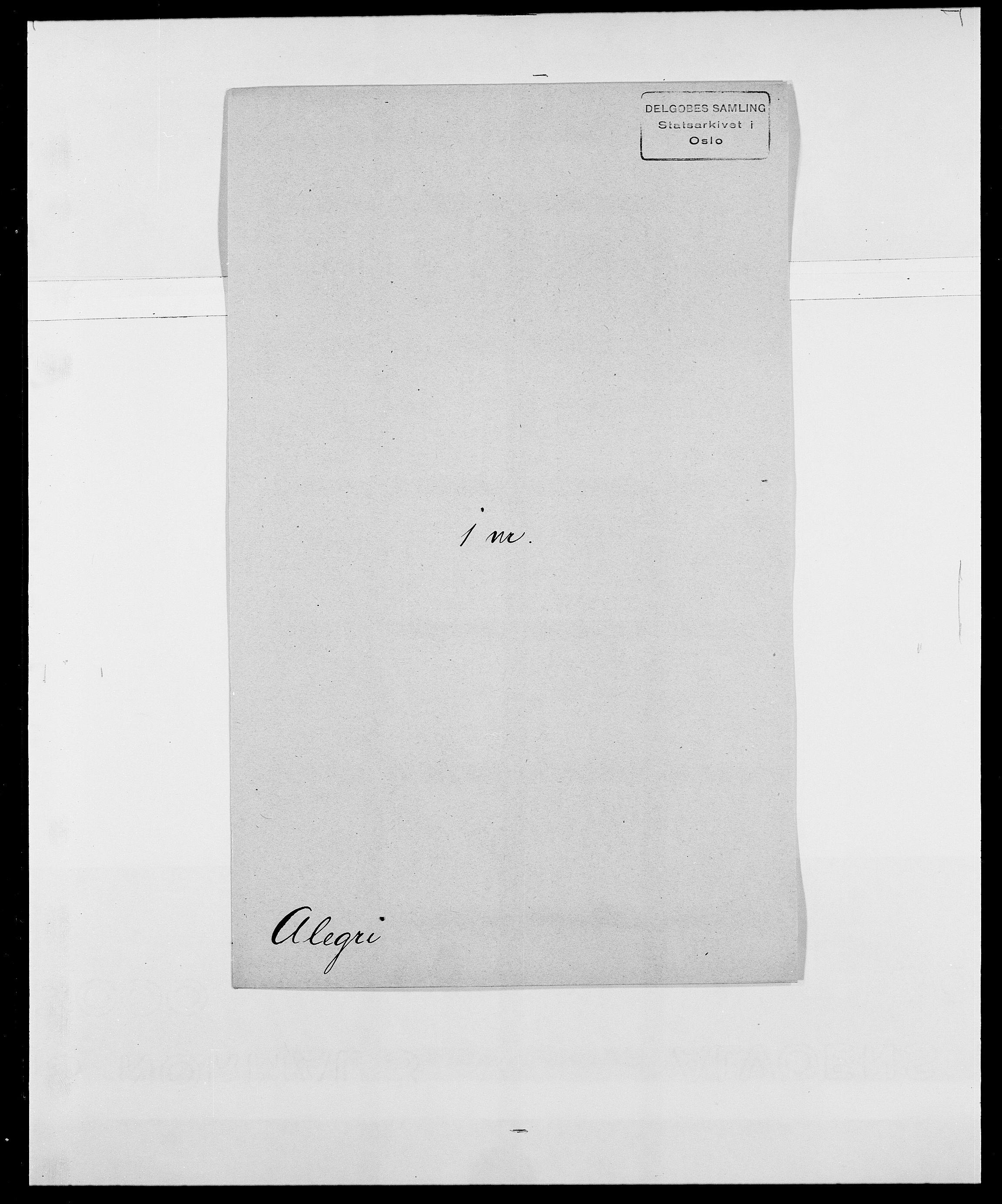 SAO, Delgobe, Charles Antoine - samling, D/Da/L0001: Aabye - Angerman, s. 386