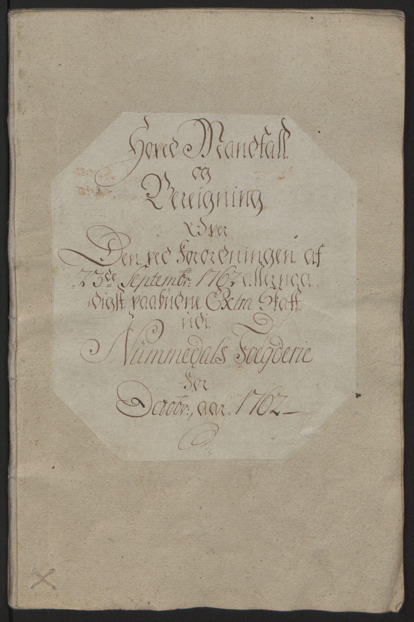 RA, Rentekammeret inntil 1814, Reviderte regnskaper, Fogderegnskap, R64/L4502: Ekstraskatten Namdal, 1762-1772, s. 12