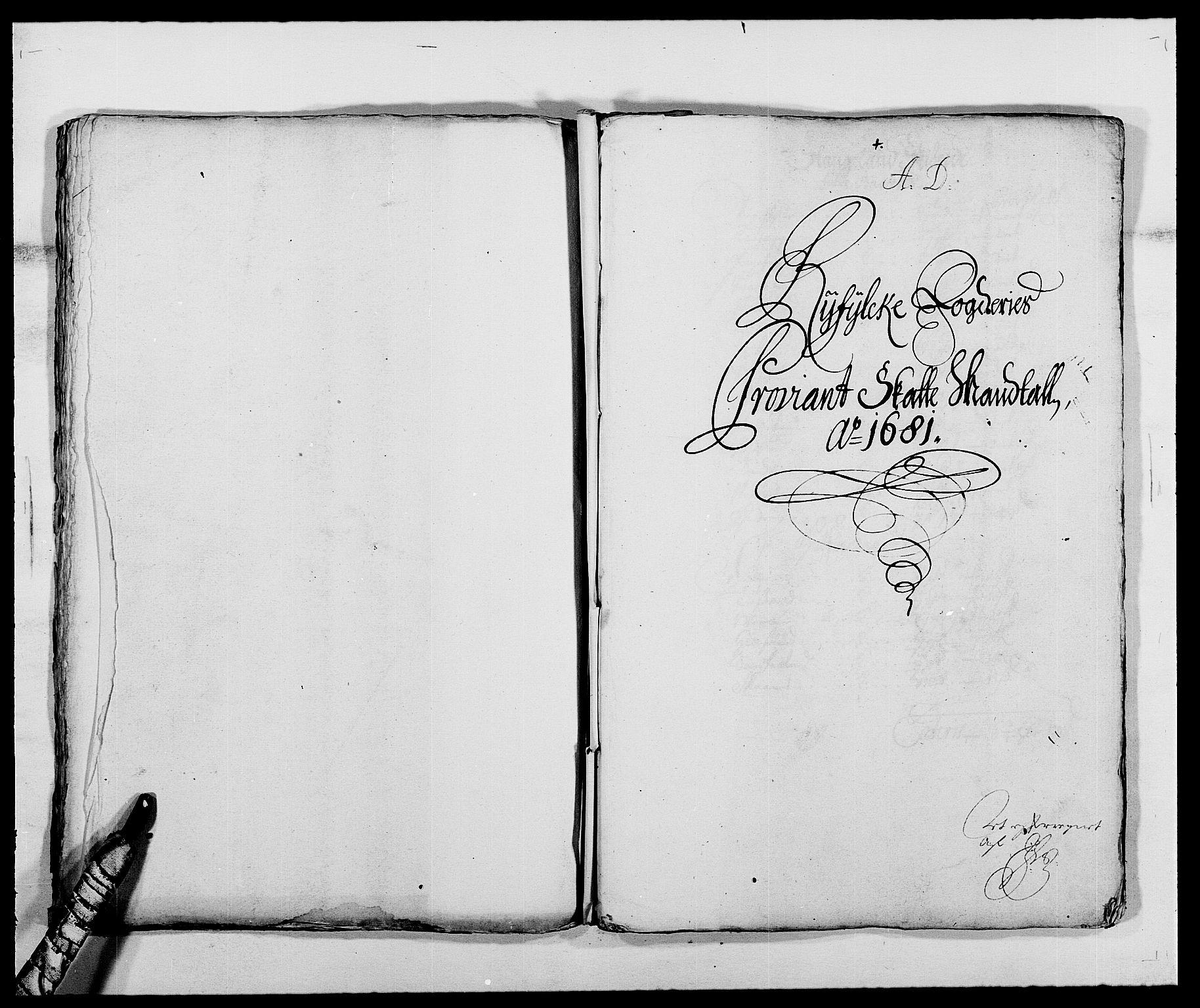 RA, Rentekammeret inntil 1814, Reviderte regnskaper, Fogderegnskap, R47/L2852: Fogderegnskap Ryfylke, 1681, s. 72