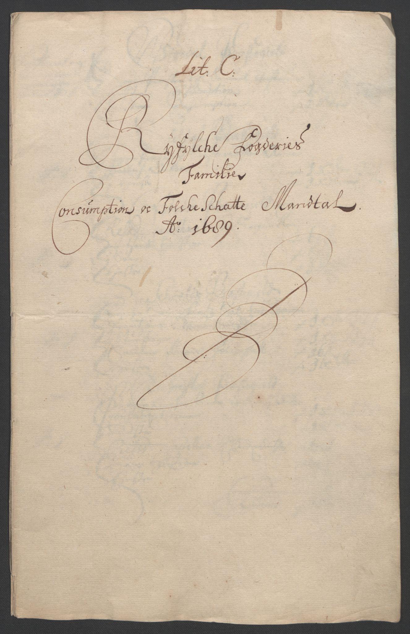 RA, Rentekammeret inntil 1814, Reviderte regnskaper, Fogderegnskap, R47/L2856: Fogderegnskap Ryfylke, 1689-1693, s. 22