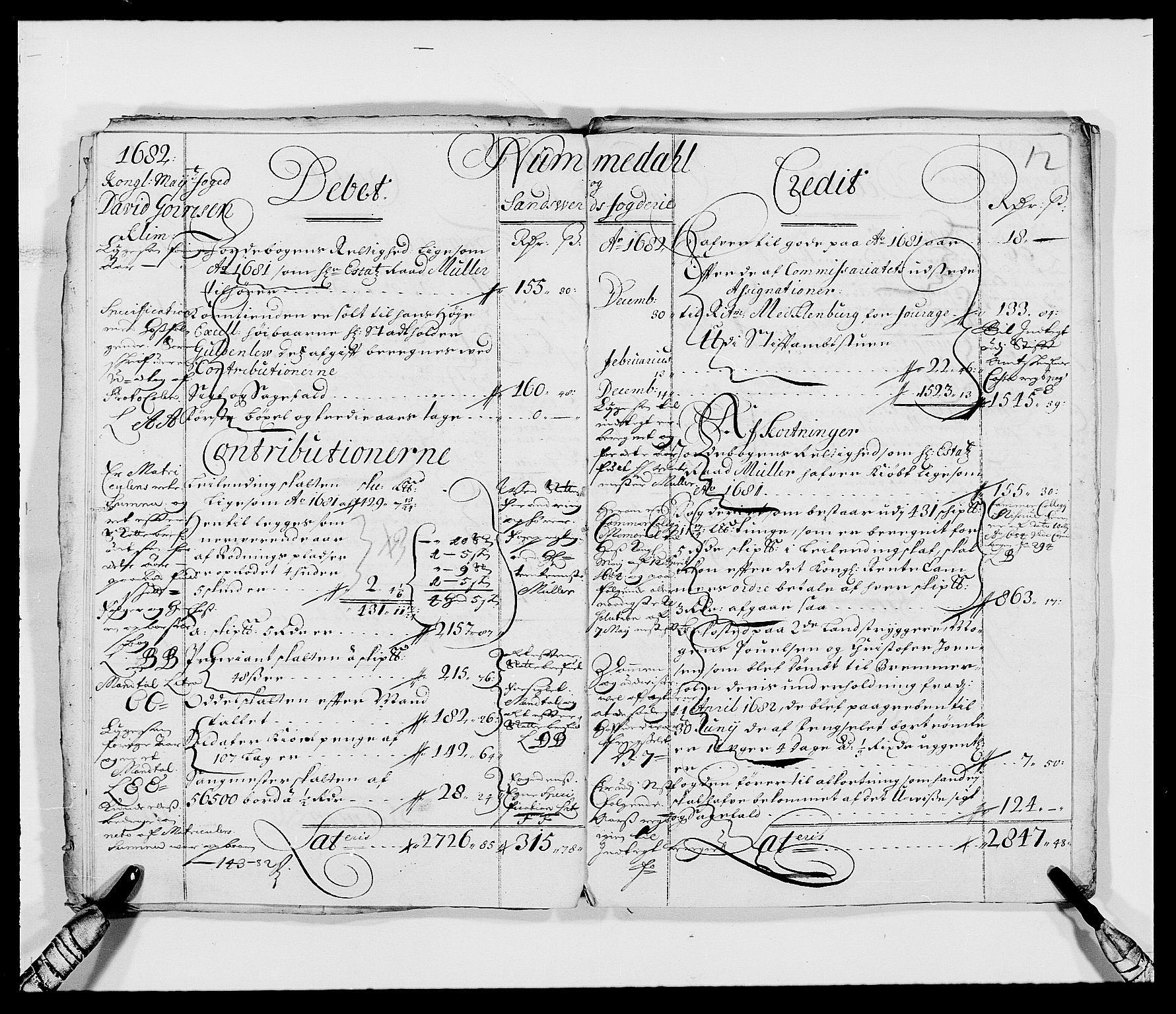 RA, Rentekammeret inntil 1814, Reviderte regnskaper, Fogderegnskap, R24/L1569: Fogderegnskap Numedal og Sandsvær, 1679-1686, s. 59