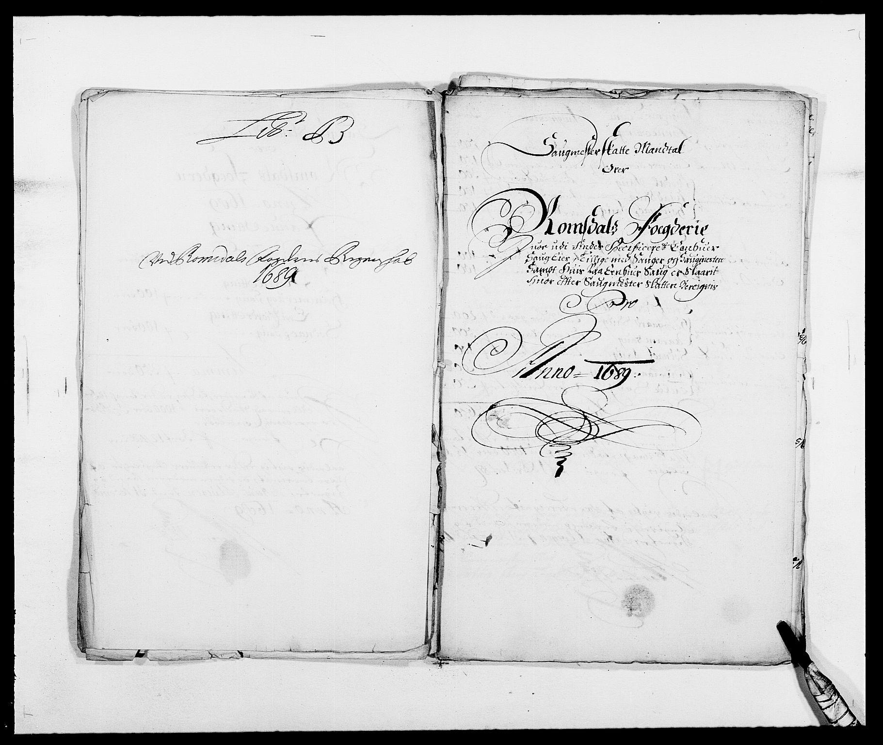 RA, Rentekammeret inntil 1814, Reviderte regnskaper, Fogderegnskap, R55/L3648: Fogderegnskap Romsdal, 1687-1689, s. 318