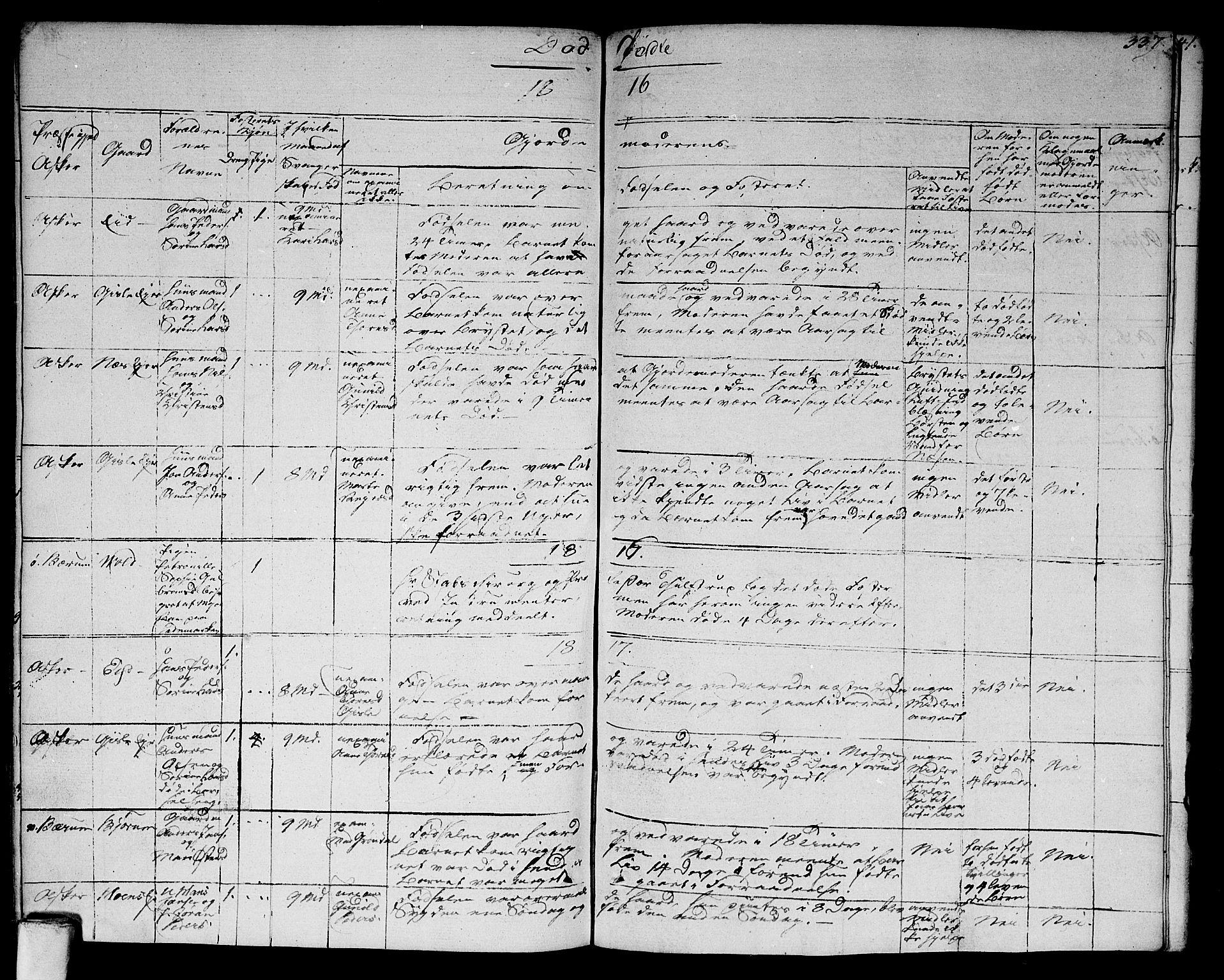 SAO, Asker prestekontor Kirkebøker, F/Fa/L0005: Ministerialbok nr. I 5, 1807-1813, s. 337