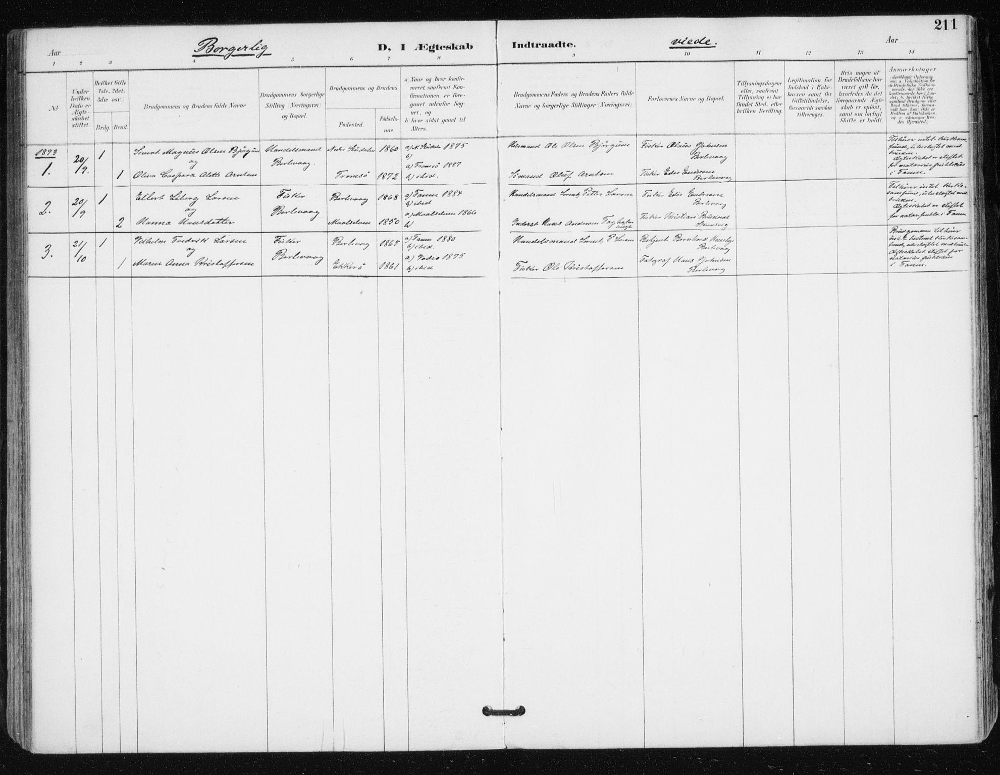 SATØ, Tana sokneprestkontor, H/Ha/L0005kirke: Ministerialbok nr. 5, 1891-1903, s. 211