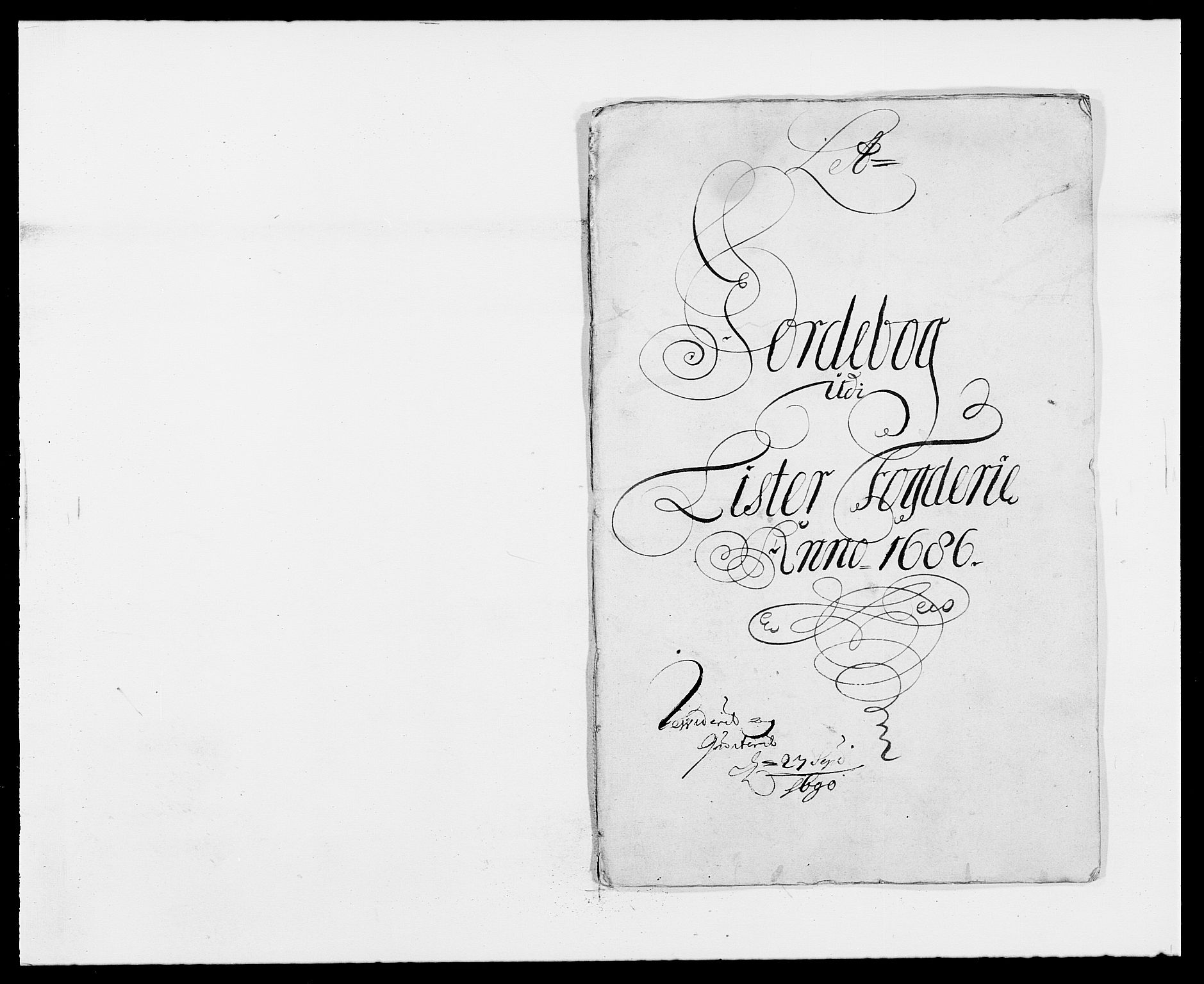 RA, Rentekammeret inntil 1814, Reviderte regnskaper, Fogderegnskap, R41/L2534: Fogderegnskap Lista, 1686-1688, s. 29