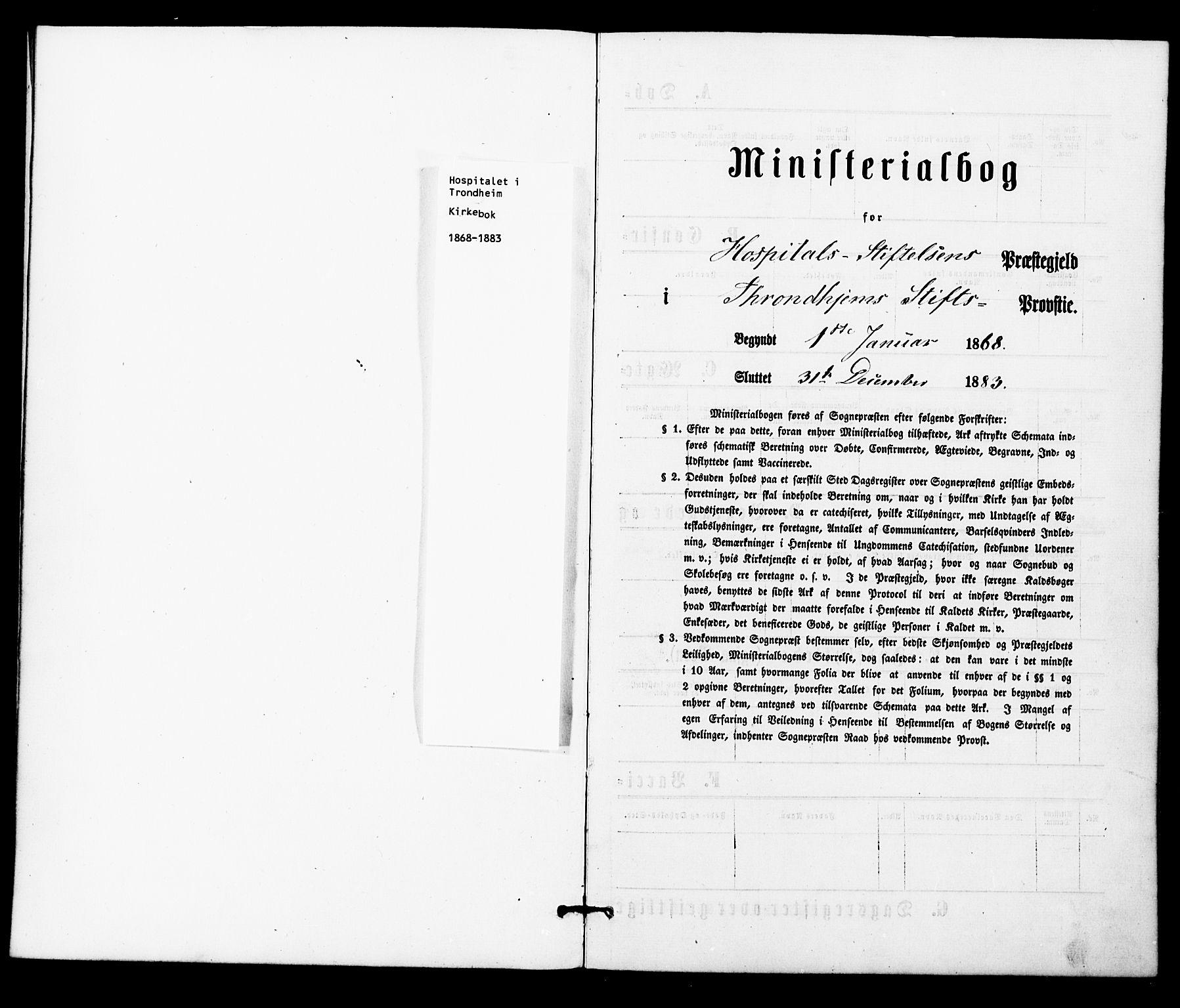 SAT, Ministerialprotokoller, klokkerbøker og fødselsregistre - Sør-Trøndelag, 623/L0469: Ministerialbok nr. 623A03, 1868-1883