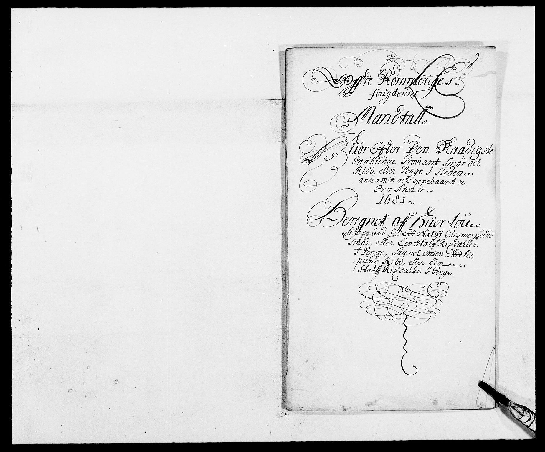 RA, Rentekammeret inntil 1814, Reviderte regnskaper, Fogderegnskap, R12/L0696: Fogderegnskap Øvre Romerike, 1681, s. 165