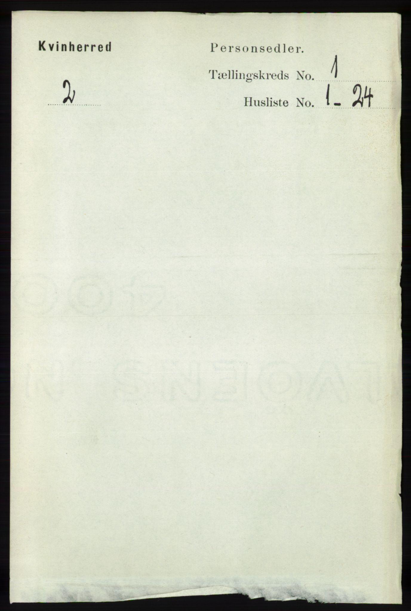 RA, Folketelling 1891 for 1224 Kvinnherad herred, 1891, s. 119