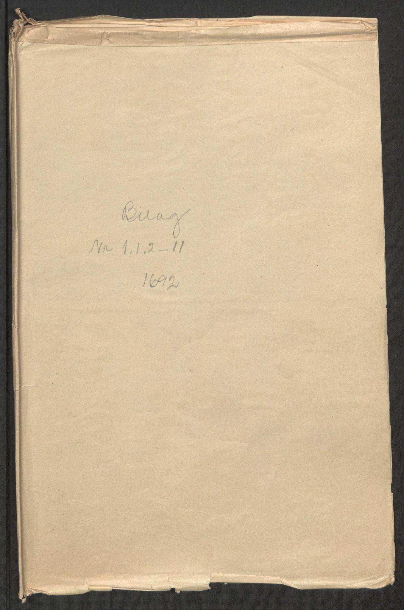 RA, Rentekammeret inntil 1814, Reviderte regnskaper, Fogderegnskap, R51/L3181: Fogderegnskap Nordhordland og Voss, 1691-1692, s. 351