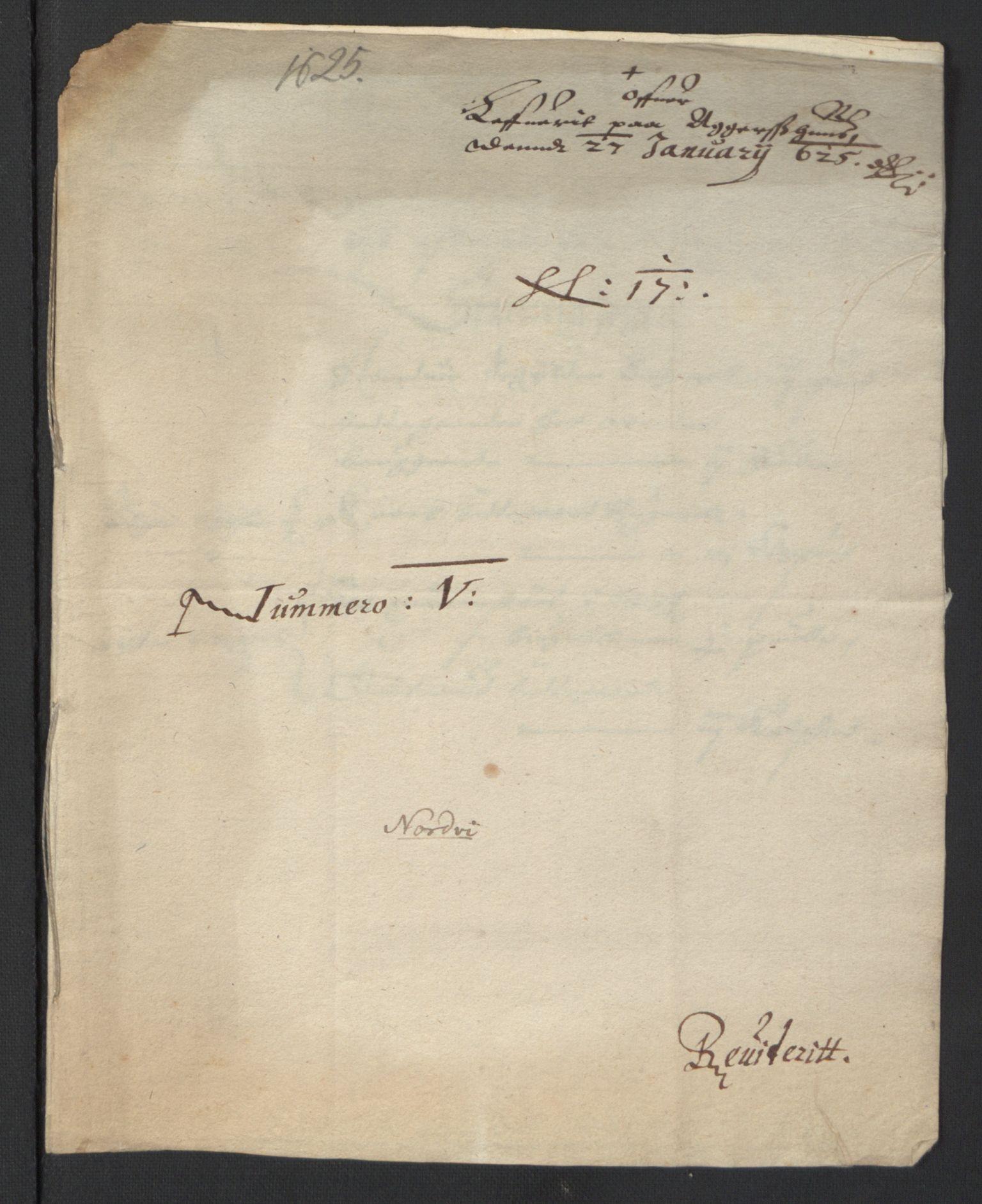 RA, Stattholderembetet 1572-1771, Ek/L0007: Jordebøker til utlikning av rosstjeneste 1624-1626:, 1624-1625, s. 169