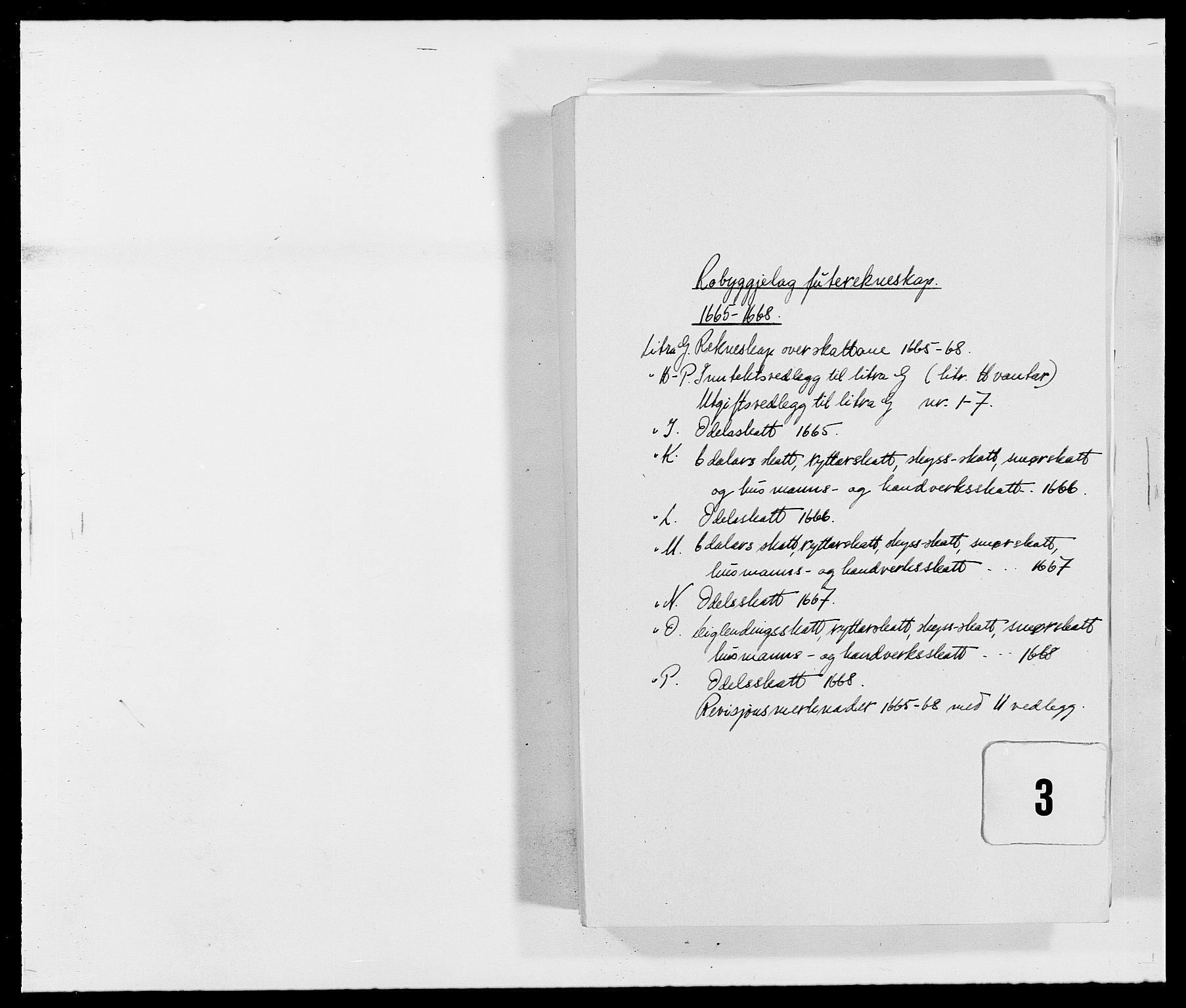 RA, Rentekammeret inntil 1814, Reviderte regnskaper, Fogderegnskap, R40/L2431: Fogderegnskap Råbyggelag, 1664-1668, s. 230