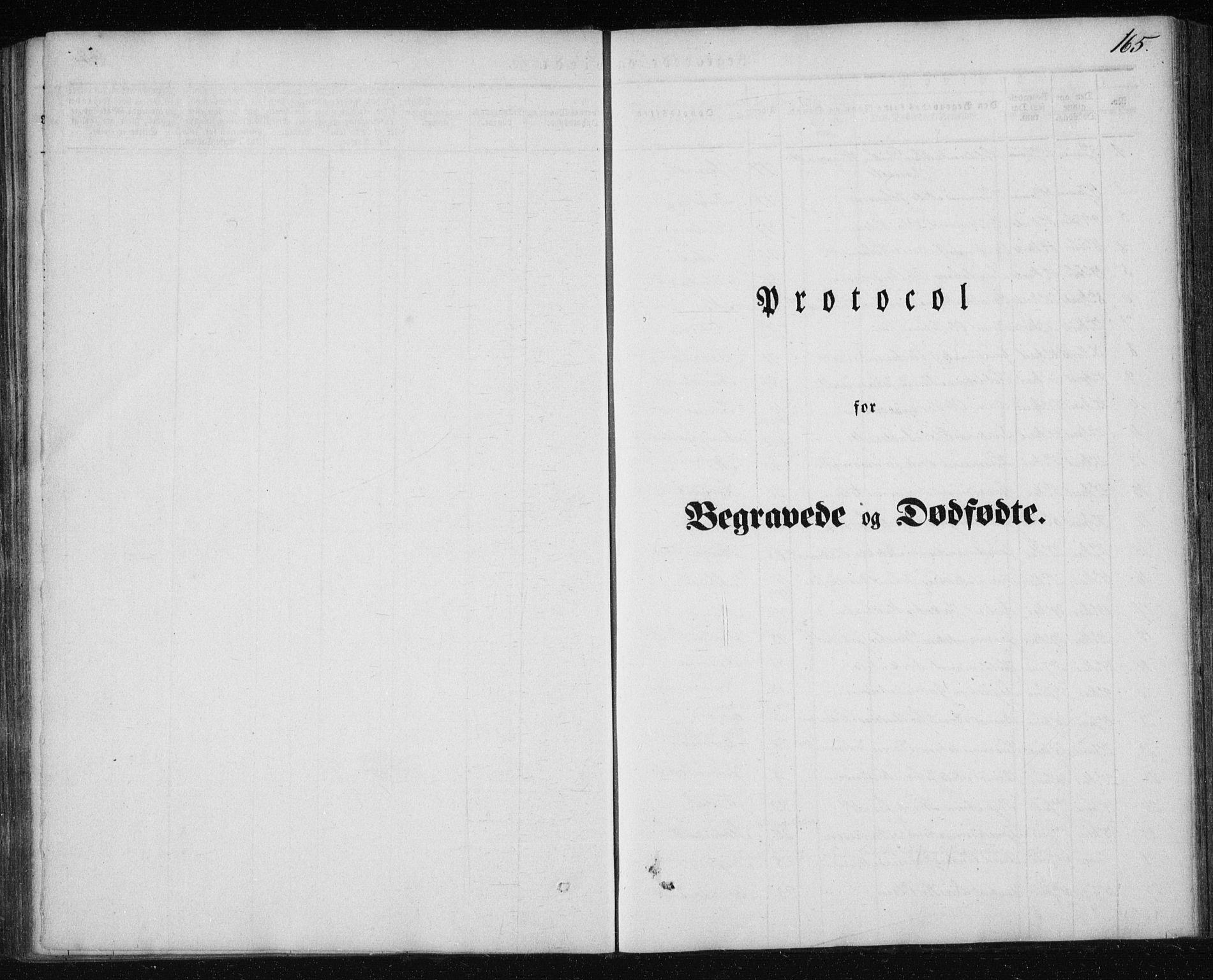SAT, Ministerialprotokoller, klokkerbøker og fødselsregistre - Nordland, 827/L0391: Ministerialbok nr. 827A03, 1842-1852, s. 165