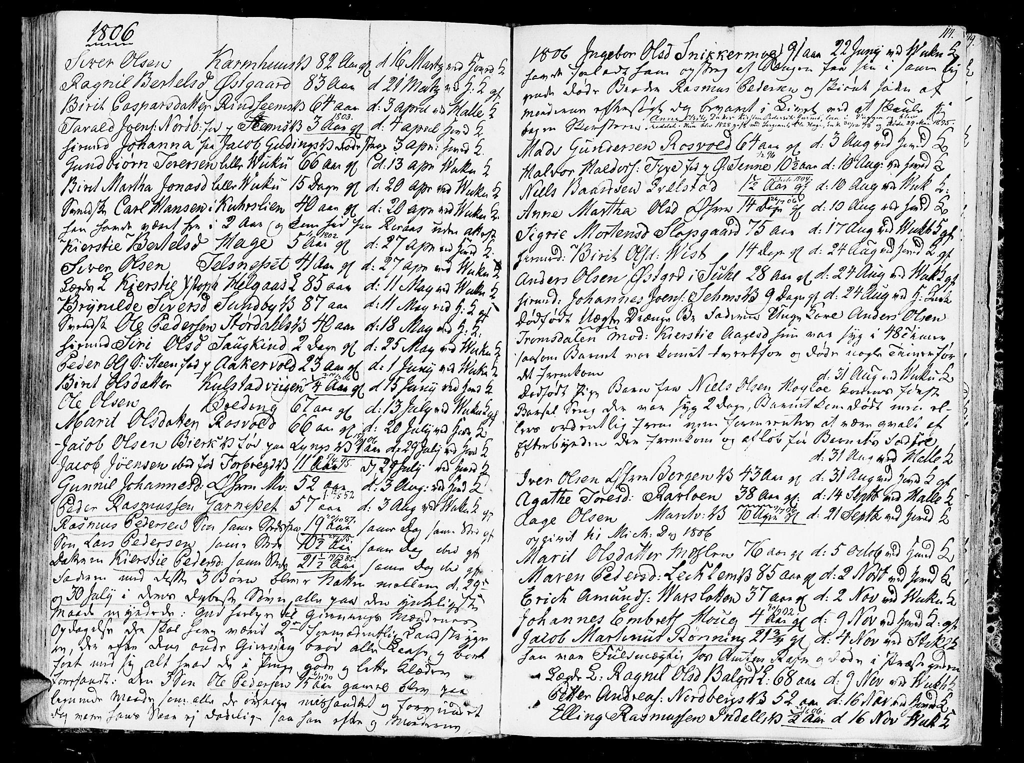 SAT, Ministerialprotokoller, klokkerbøker og fødselsregistre - Nord-Trøndelag, 723/L0233: Ministerialbok nr. 723A04, 1805-1816, s. 114
